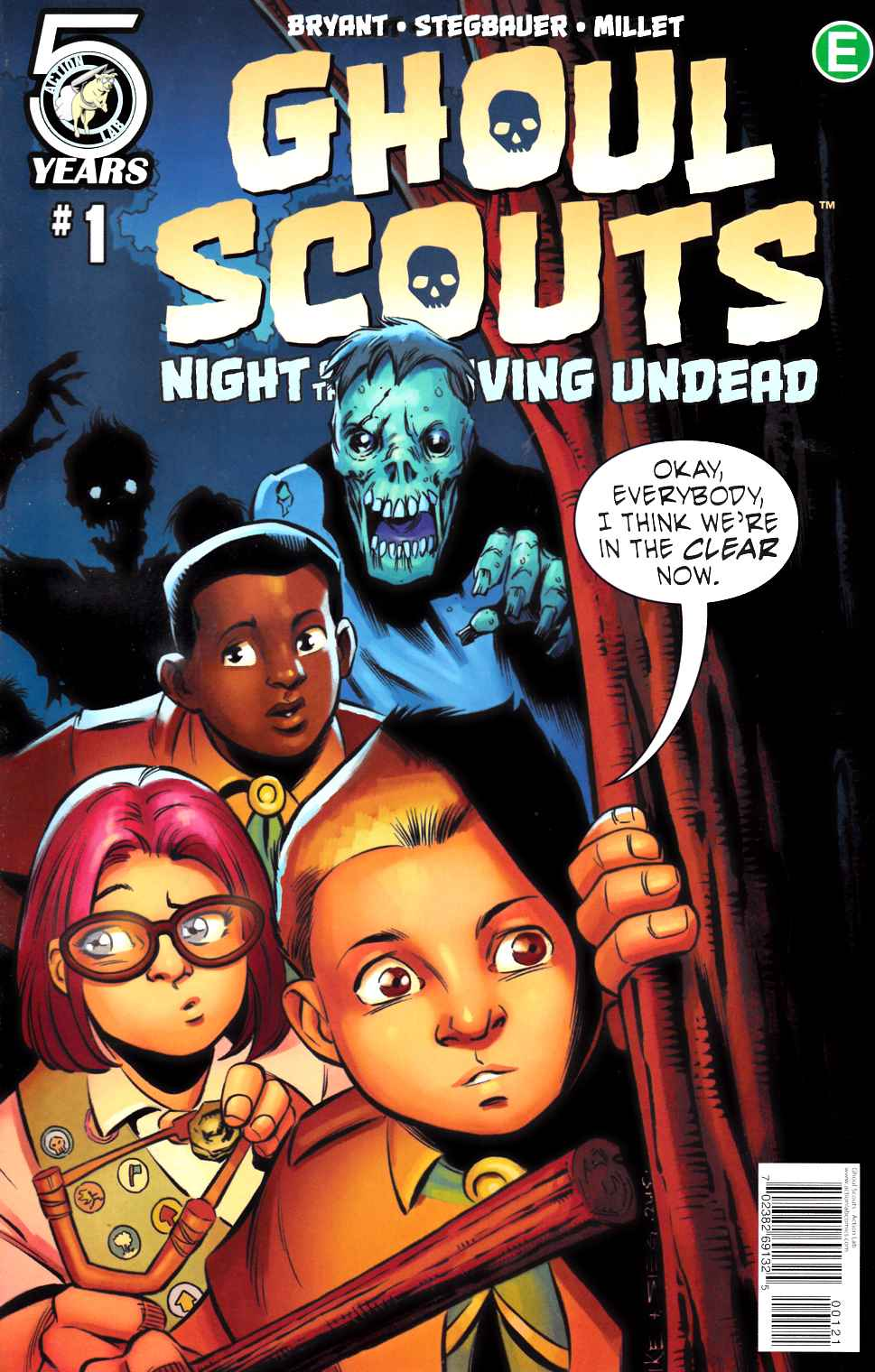 Ghoul Scouts Night of the Unliving Undead #1 Cover B [Action Lab Comic] THUMBNAIL