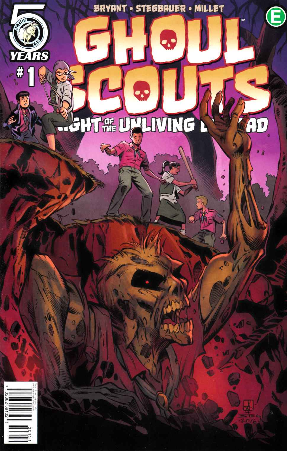 Ghoul Scouts Night of the Unliving Undead #1 Cover C [Action Lab Comic] THUMBNAIL