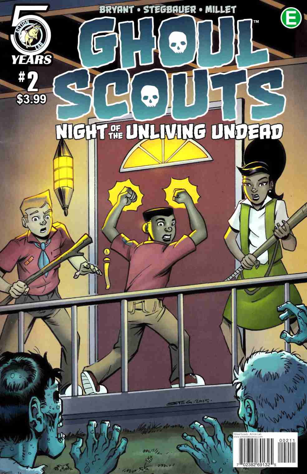 Ghoul Scouts Night of the Unliving Undead #2 Cover A [Action Lab Comic] THUMBNAIL