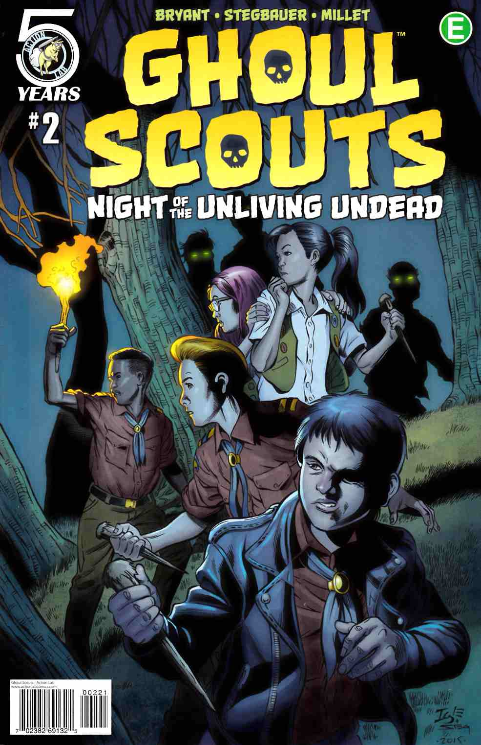 Ghoul Scouts Night of the Unliving Undead #2 Cover B [Action Lab Comic] LARGE