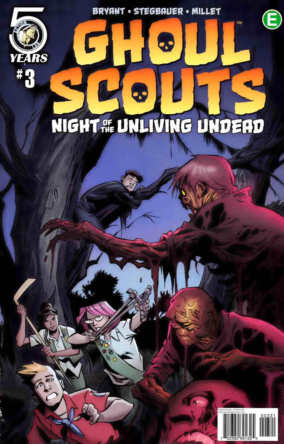 Ghoul Scouts Night of the Unliving Undead #3 Cover B [Action Lab Comic] THUMBNAIL