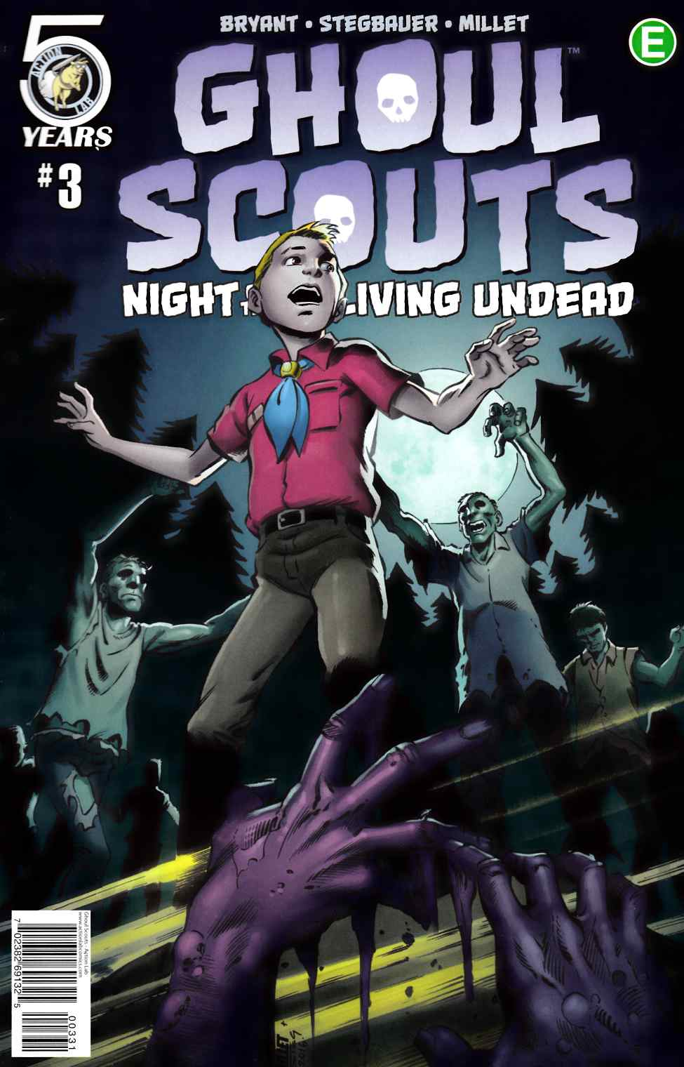 Ghoul Scouts Night of the Unliving Undead #3 Cover C [Action Lab Comic] THUMBNAIL