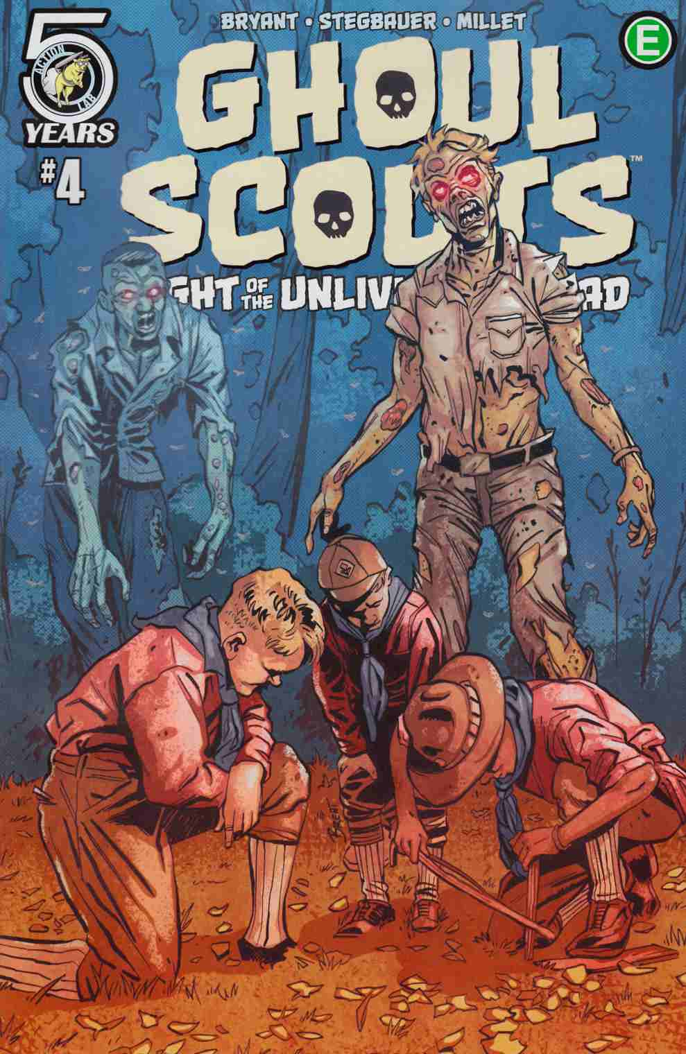 Ghoul Scouts Night of the Unliving Undead #4 Cover B [Action Lab Comic] THUMBNAIL