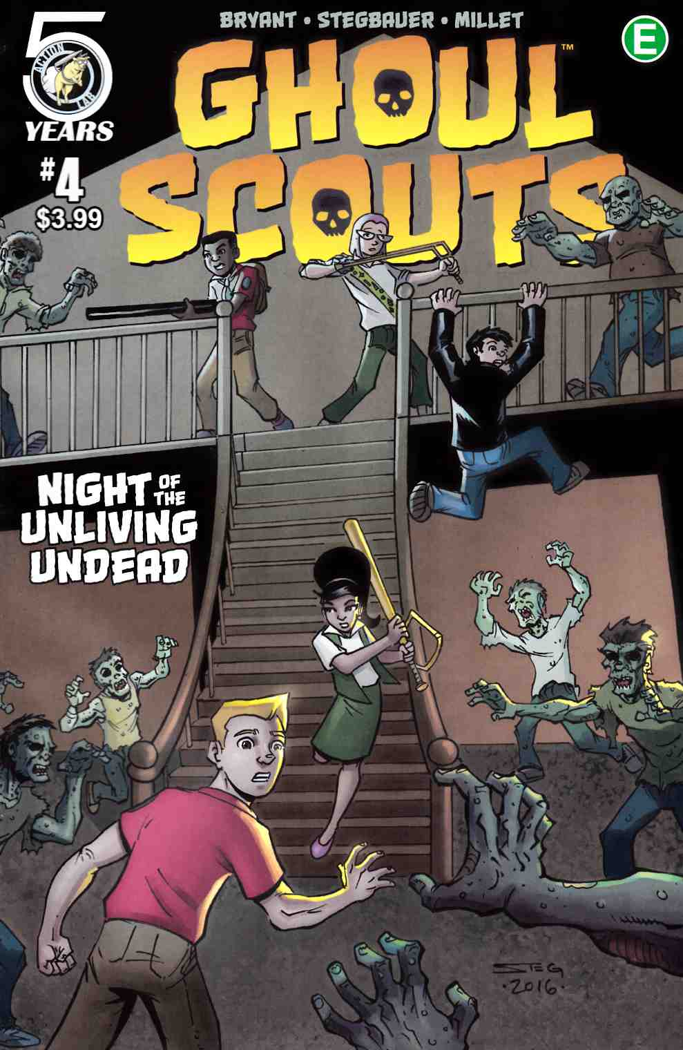 Ghoul Scouts Night of the Unliving Undead #4 Cover A [Action Lab Comic] THUMBNAIL