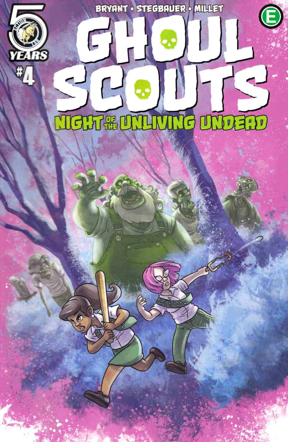 Ghoul Scouts Night of the Unliving Undead #4 Cover C [Action Lab Comic] THUMBNAIL