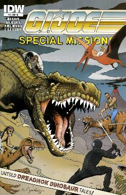 GI Joe Special Missions #4 Cover RI- Rugg [Comic] LARGE