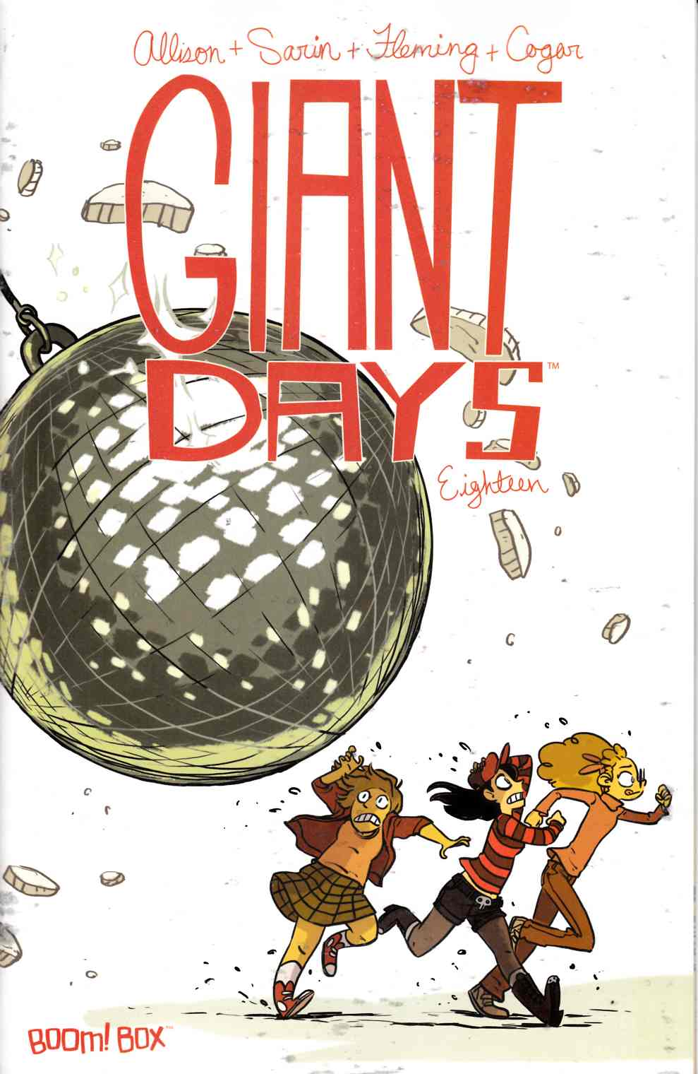 Giant Days #18 [Boom Comic]
