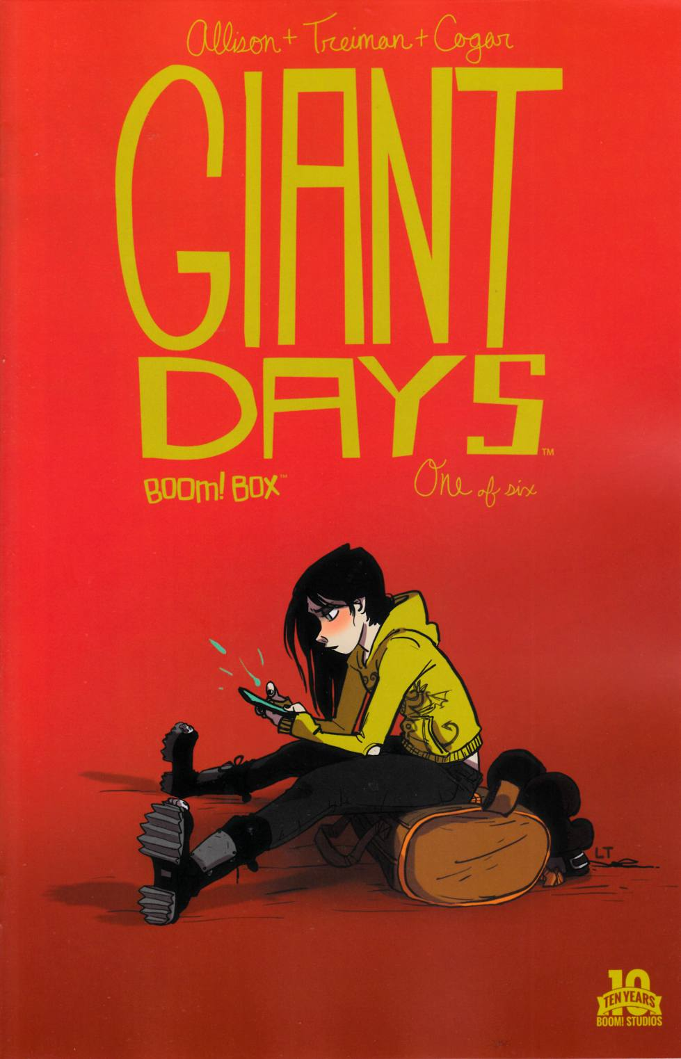 Giant Days #1 Second Printing [Boom Comic] THUMBNAIL