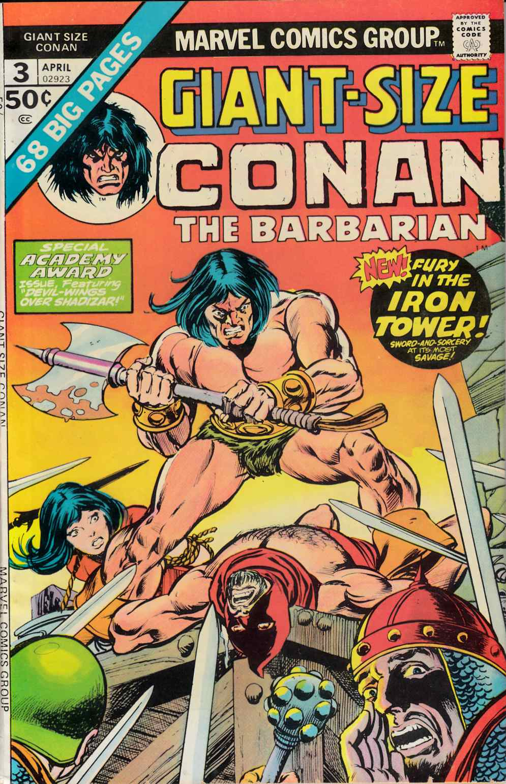 Giant Size Conan #3 Very Fine (8.0) [Marvel Comic] LARGE