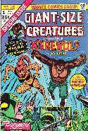 Giant Size Creatures #1 [Marvel Comic] THUMBNAIL