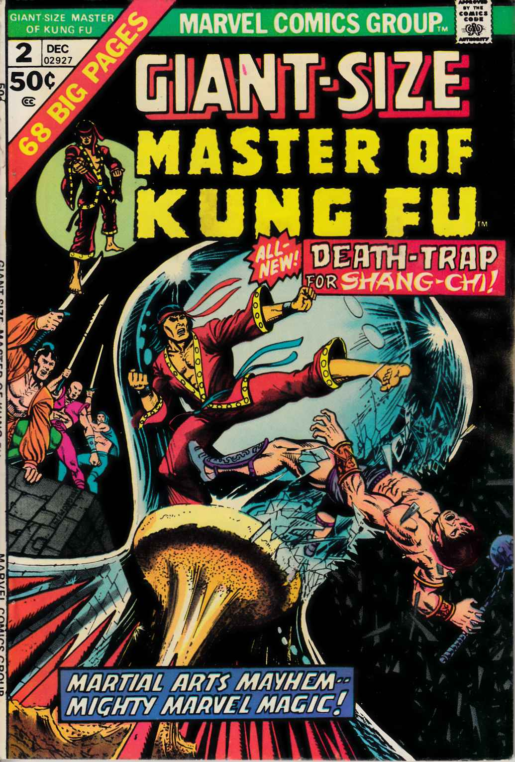 Giant Size Master of Kung Fu #2 Fine Plus (6.5) [Marvel Comic] LARGE