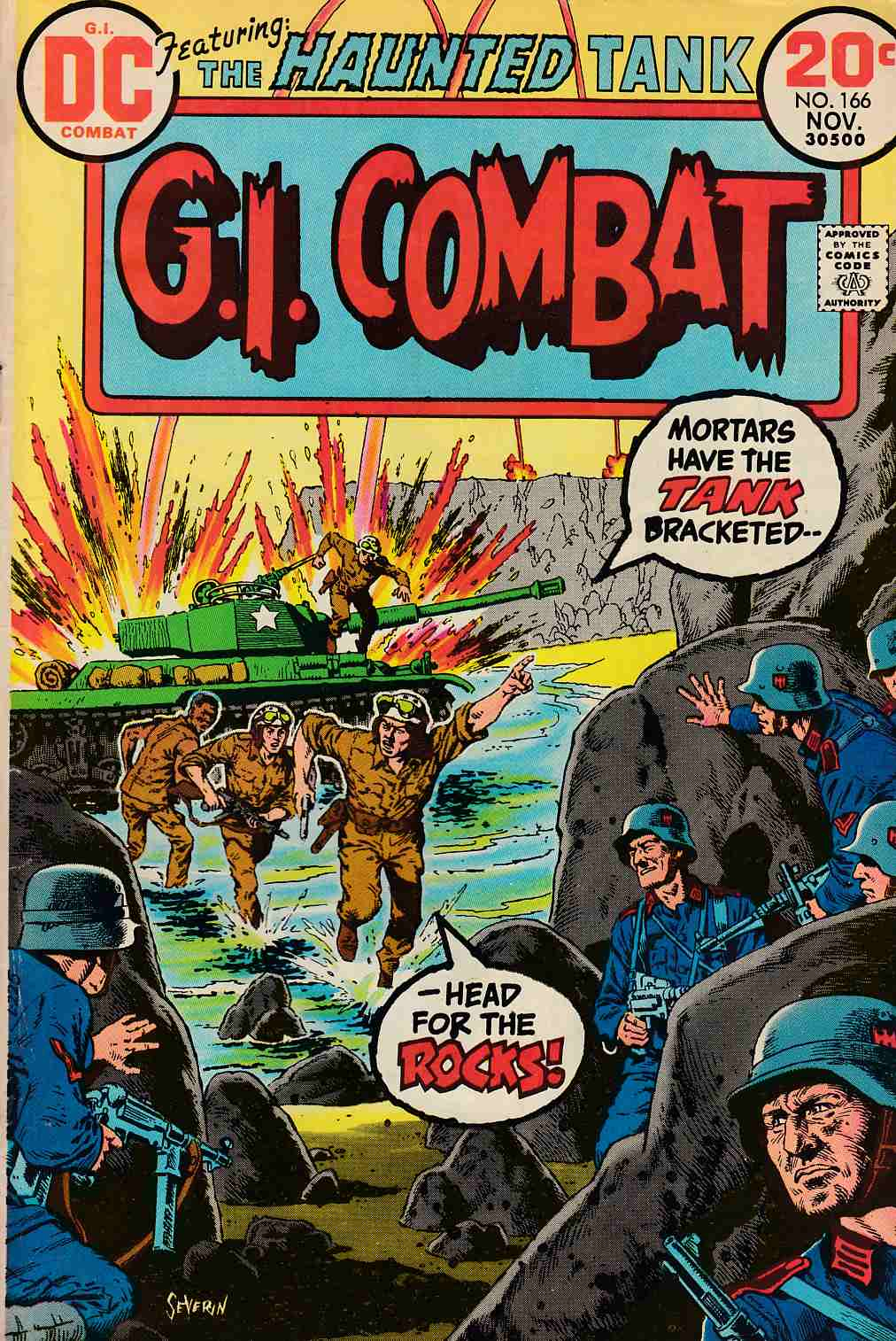 GI Combat #166 Good Plus (2.5) [DC Comic] THUMBNAIL
