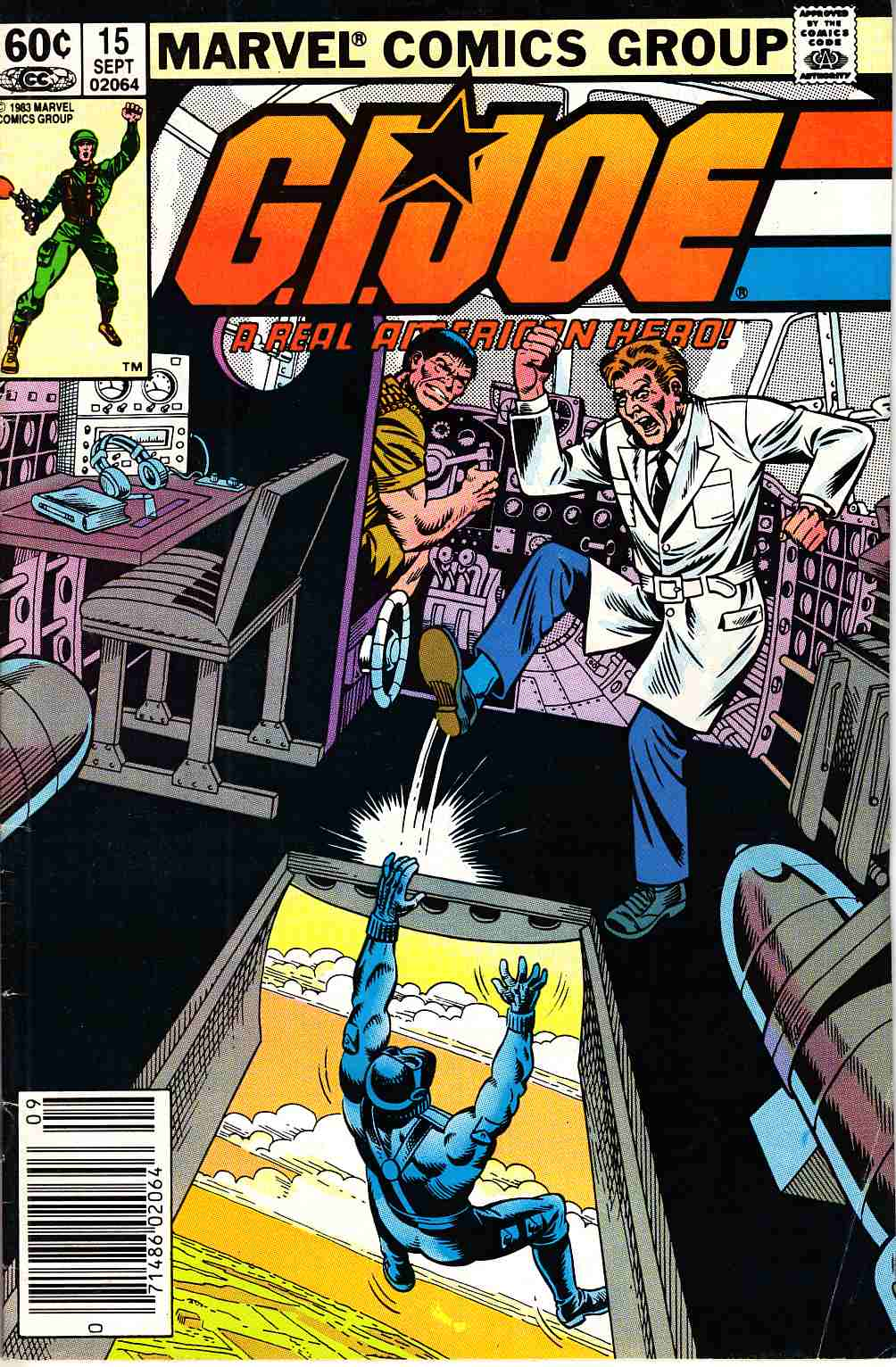 GI Joe A Real American Hero #15 Newsstand Edition [Marvel Comic]_THUMBNAIL