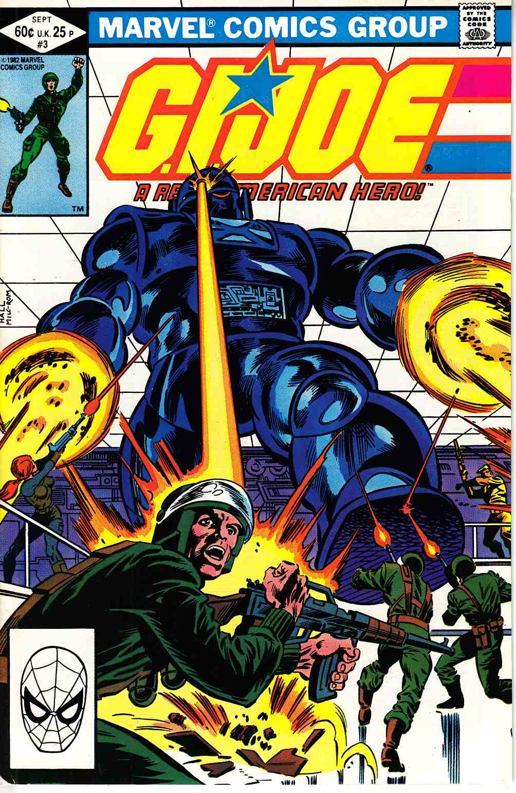 GI Joe A Real American Hero #3 Diamond Corner Box [Marvel Comic]_THUMBNAIL