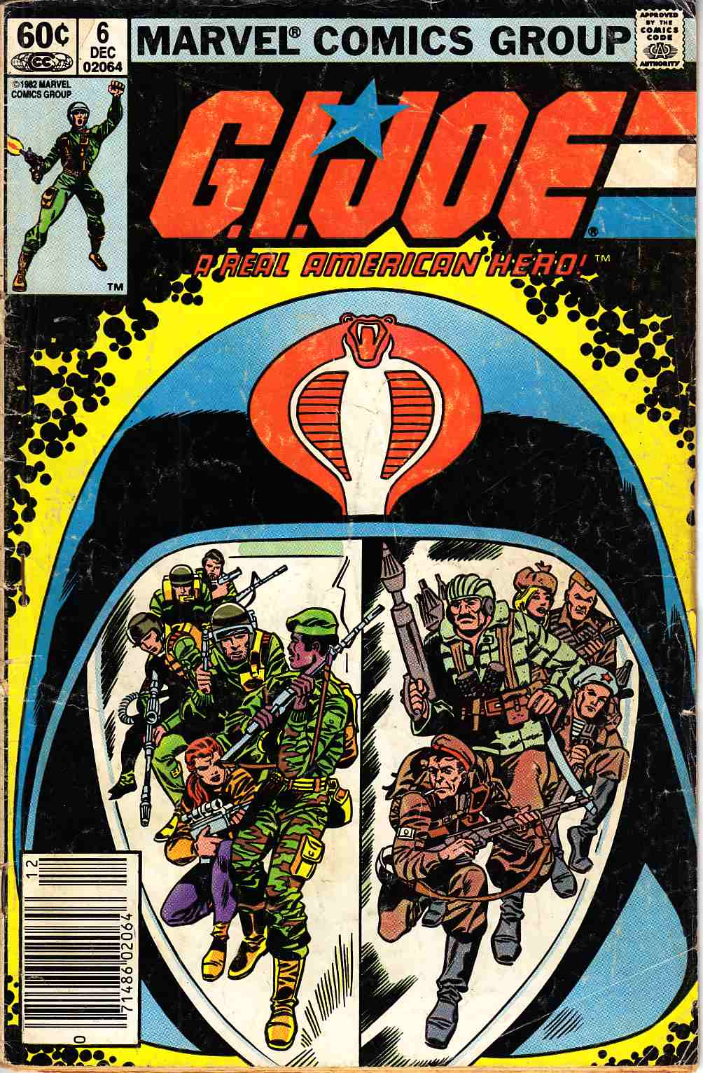 GI Joe A Real American Hero #6 Newsstand Edition [Marvel Comic]_THUMBNAIL