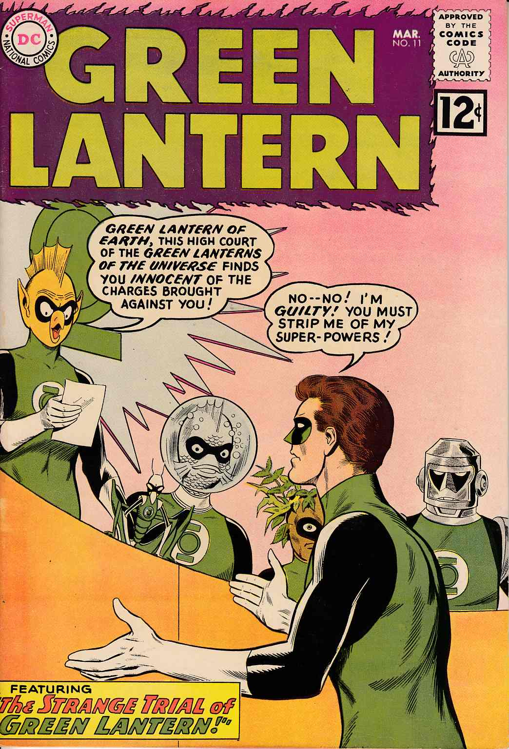 Green Lantern #11 Very Fine (8.0) [DC Comic]_THUMBNAIL
