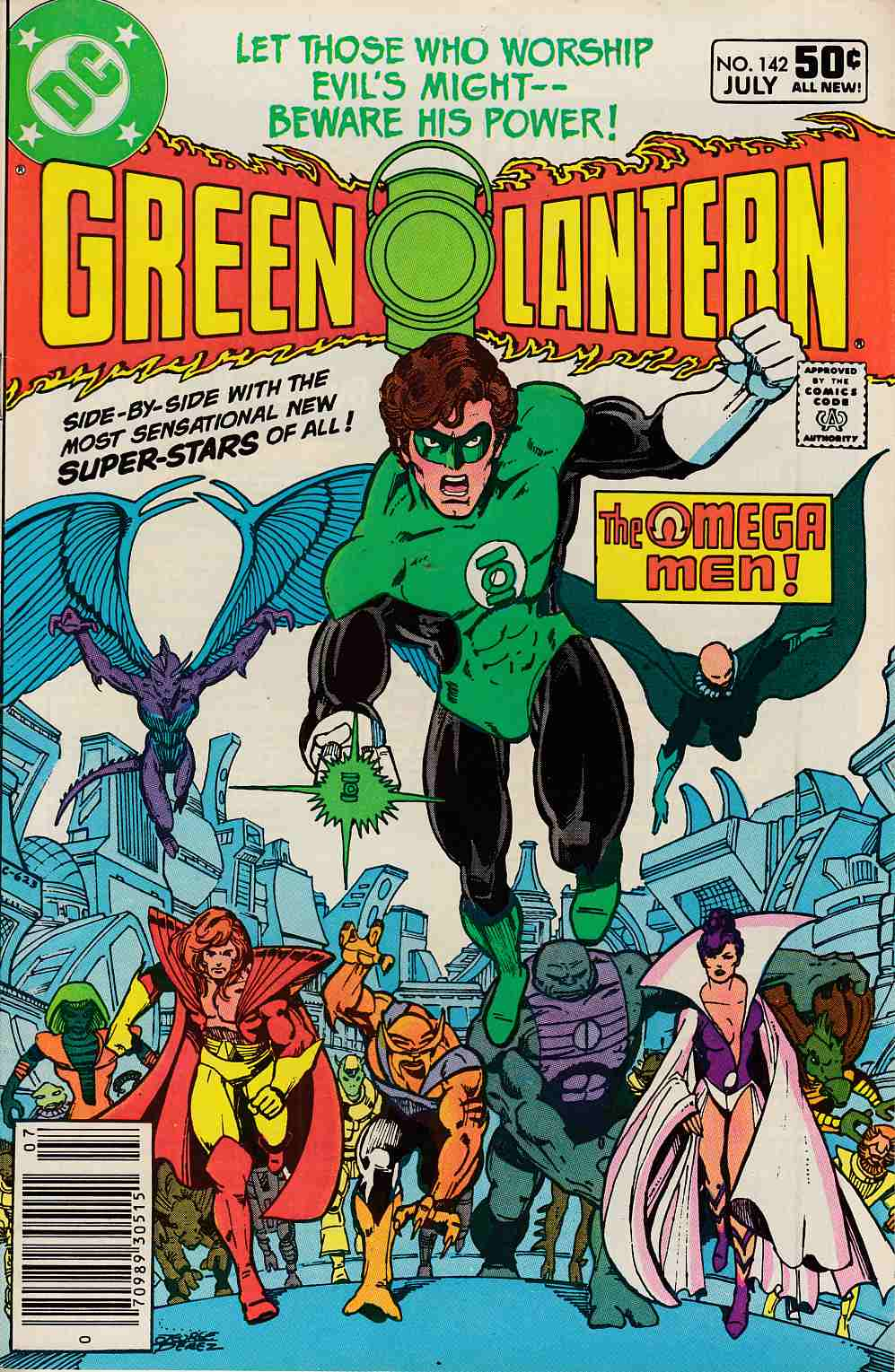 Green Lantern #142 Newsstand Edition Fine (6.0) [DC Comic] LARGE