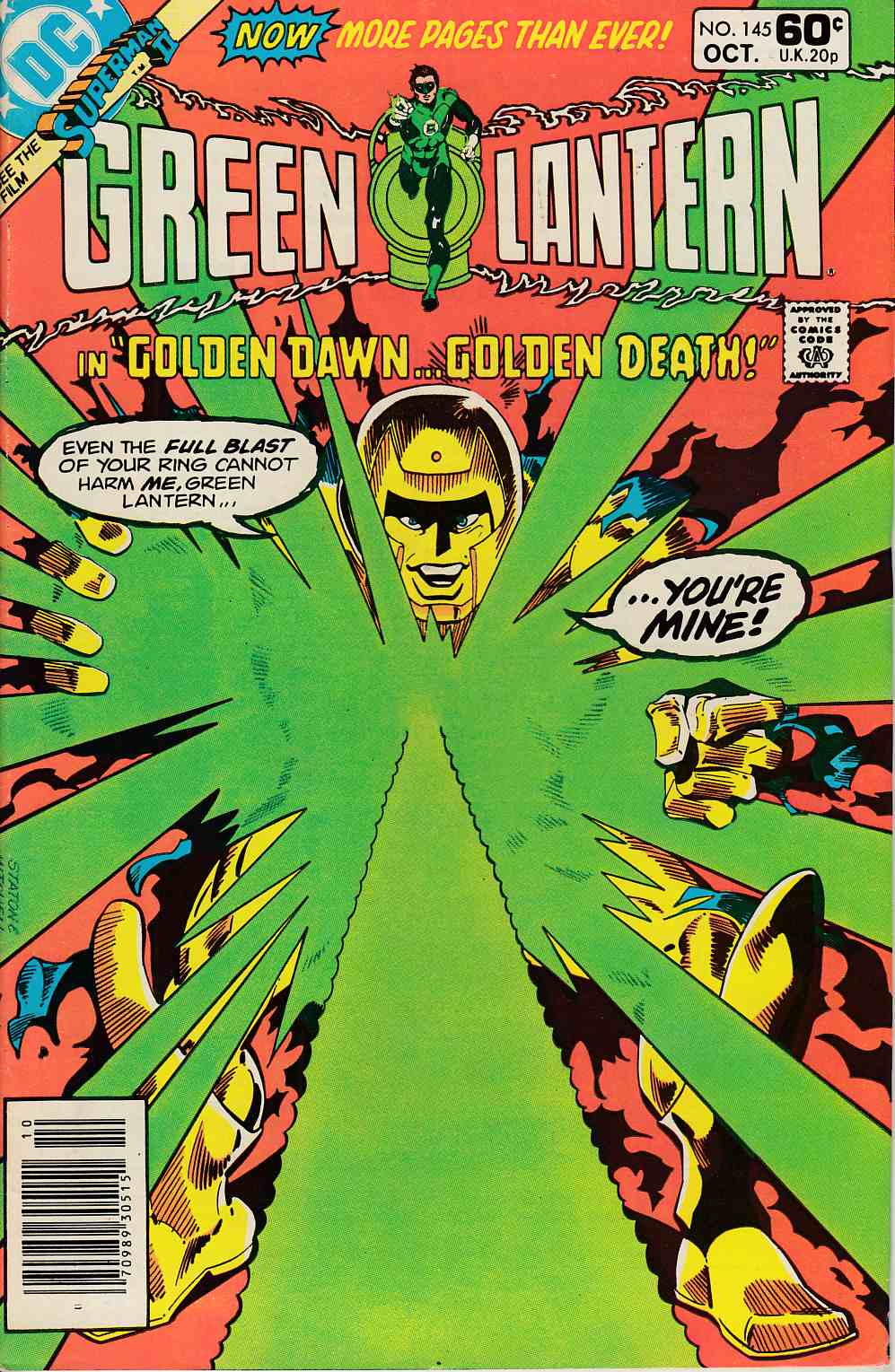 Green Lantern #145 Newsstand Edition Very Fine (8.0) [DC Comic] LARGE