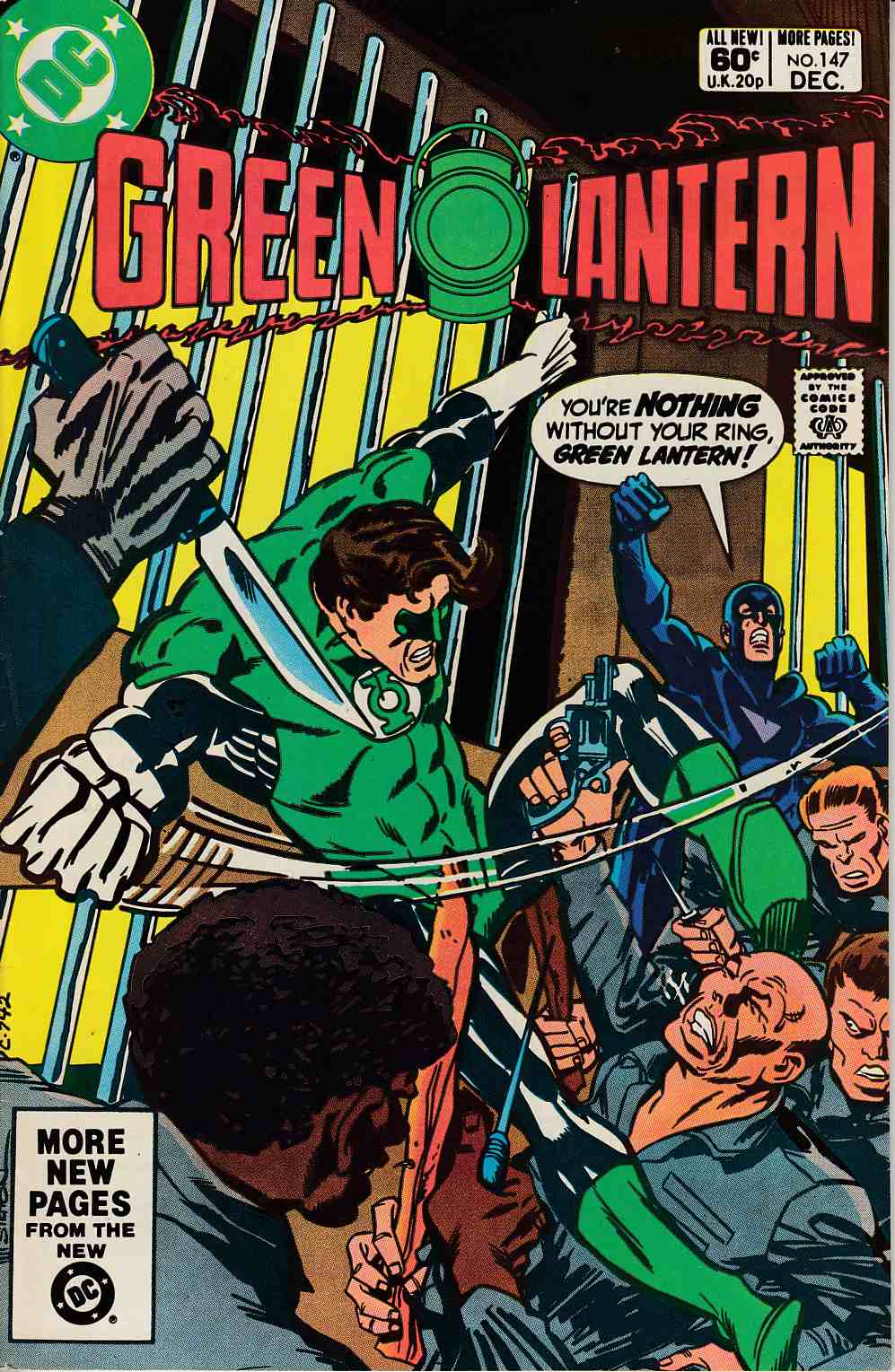 Green Lantern #147 Newsstand Edition Very Fine (8.0) [DC Comic] LARGE