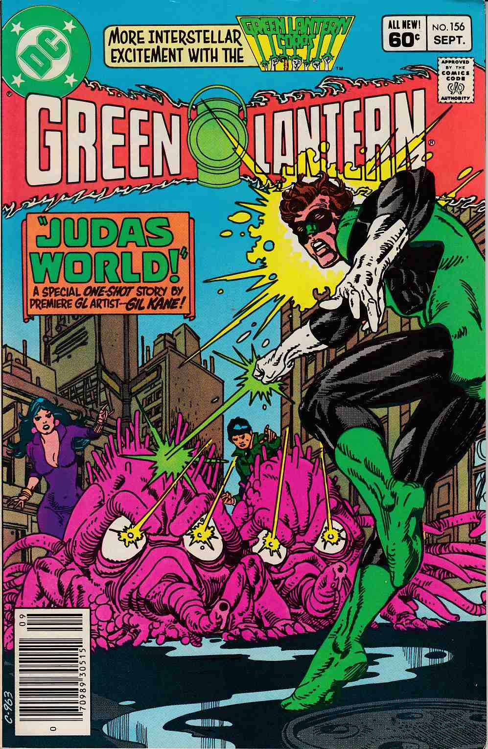 Green Lantern #156 Newsstand Edition Fine/Very Fine (7.0) [DC Comic] LARGE