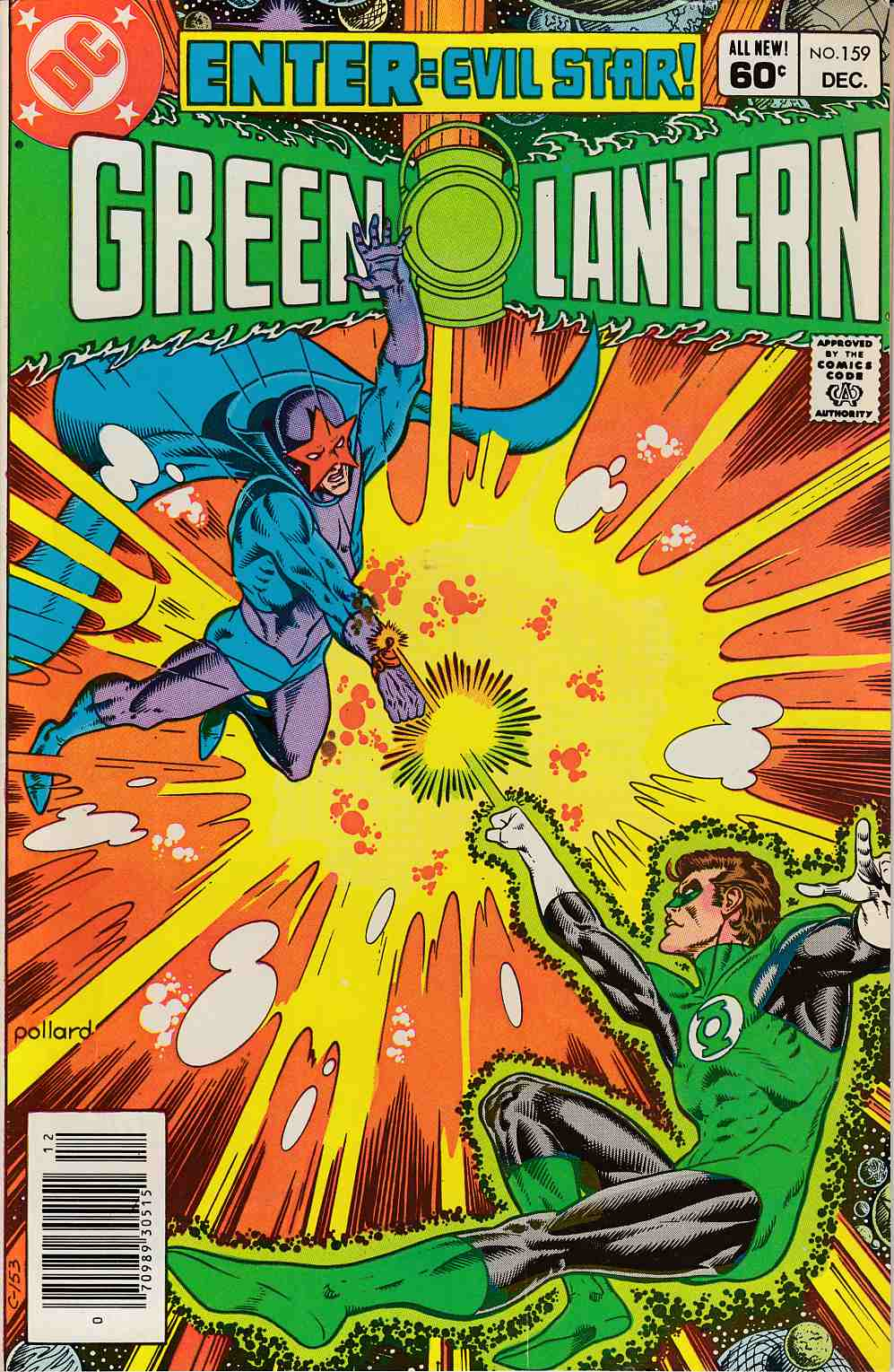 Green Lantern #159 Newsstand Edition Fine (6.0) [DC Comic] LARGE