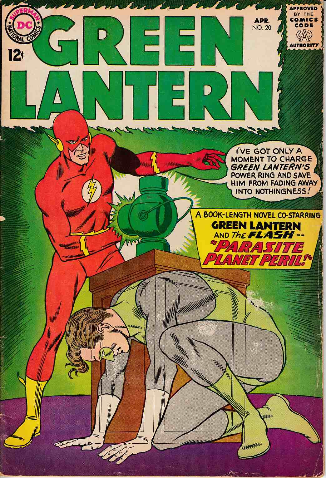Green Lantern #20 Good/Very Good (3.0) [DC Comic]_THUMBNAIL