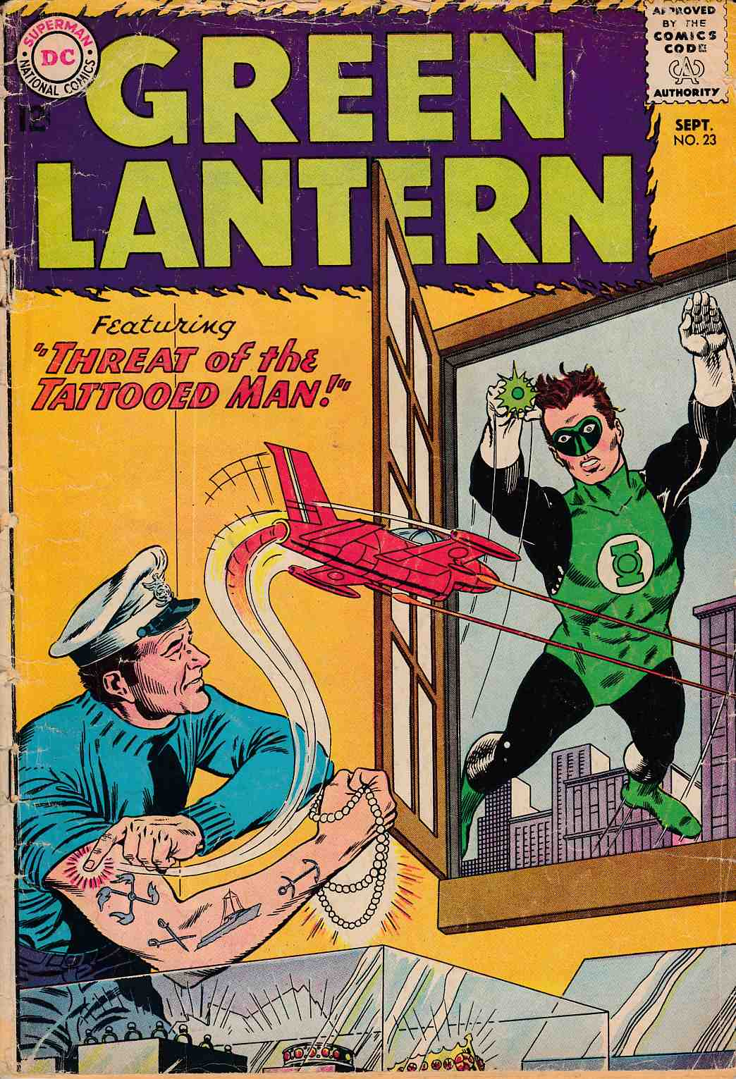 Green Lantern #23 Good (2.0) [DC Comic]_THUMBNAIL