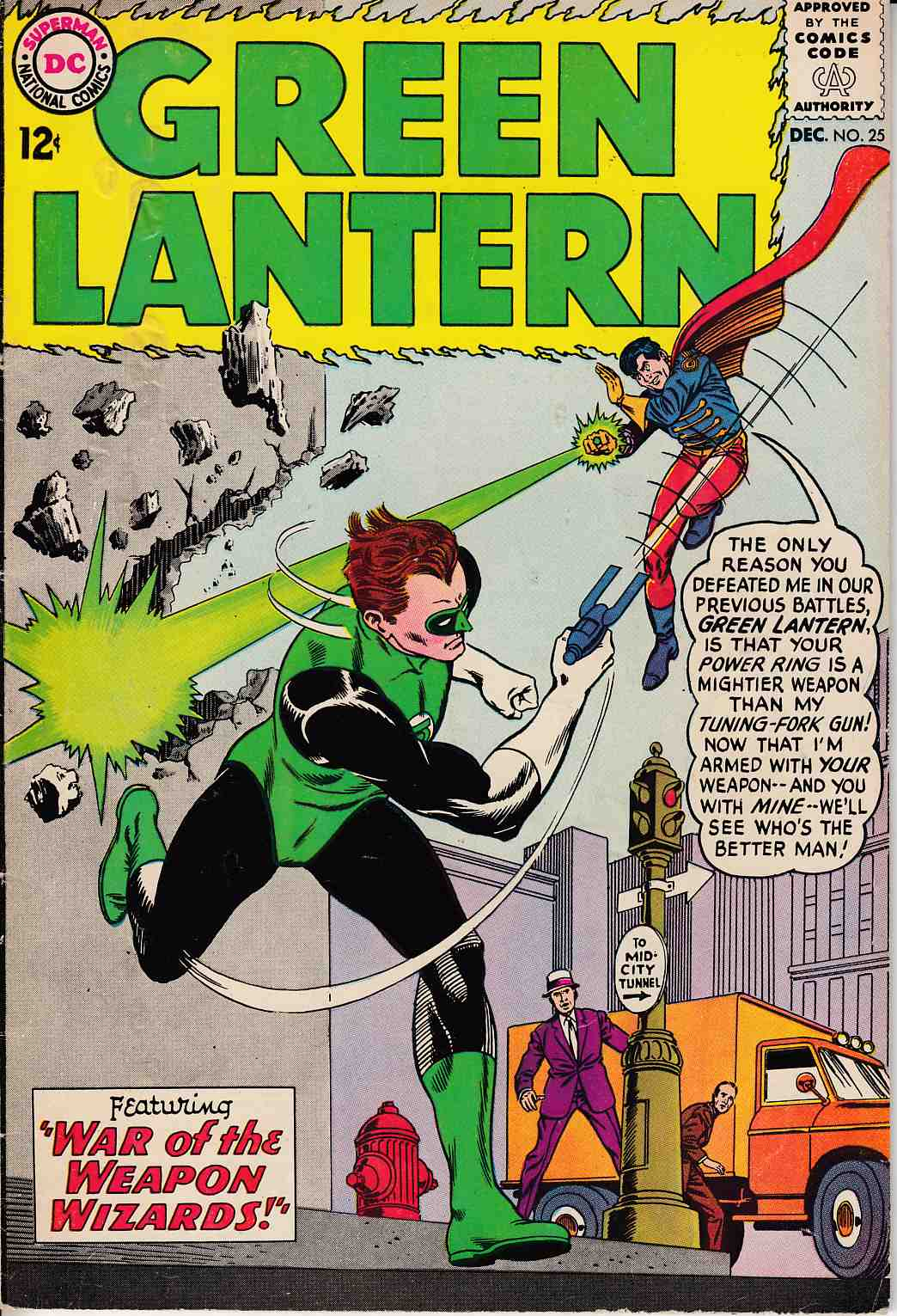 Green Lantern #25 Very Good (4.0) [DC Comic]_THUMBNAIL