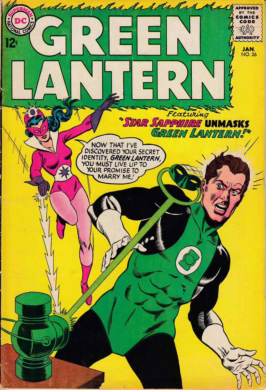 Green Lantern #26 Good/Very Good (3.0) [DC Comic]_THUMBNAIL
