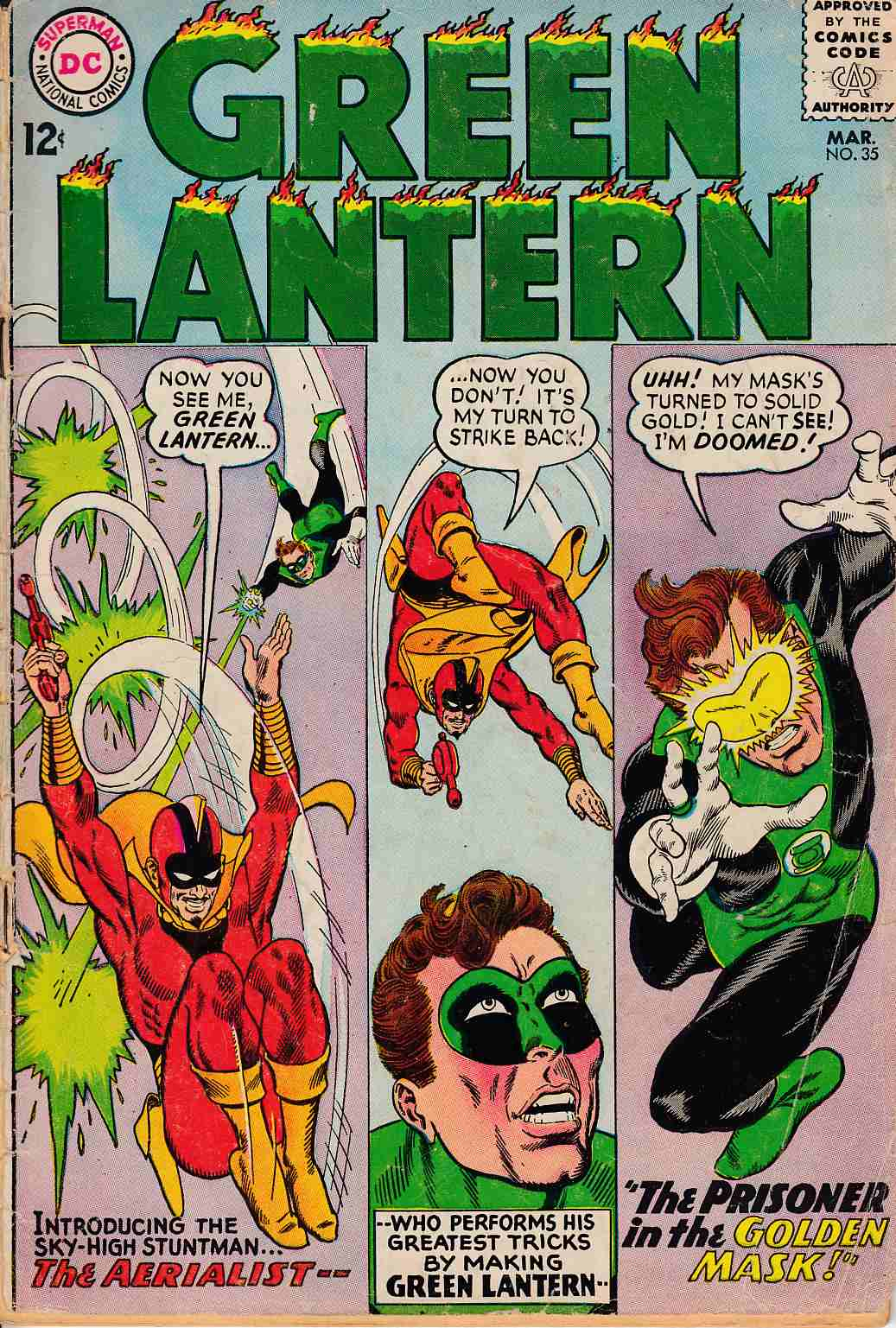 Green Lantern #35 Good (2.0) [DC Comic]_THUMBNAIL