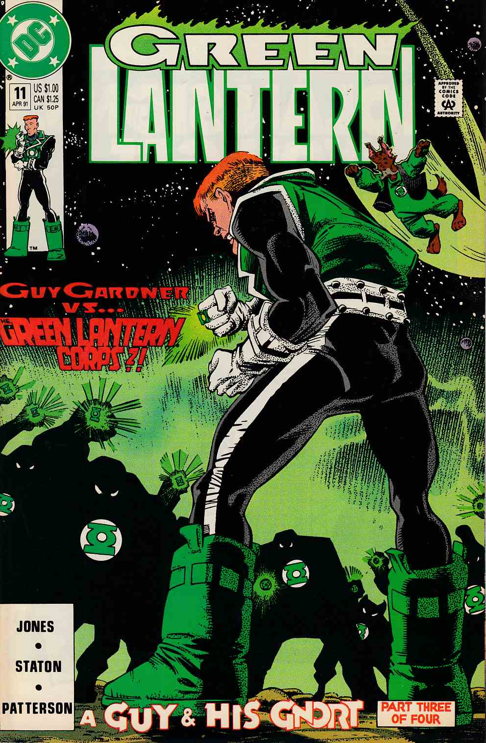 Green Lantern #11 Near Mint (9.4) [DC Comic]_THUMBNAIL