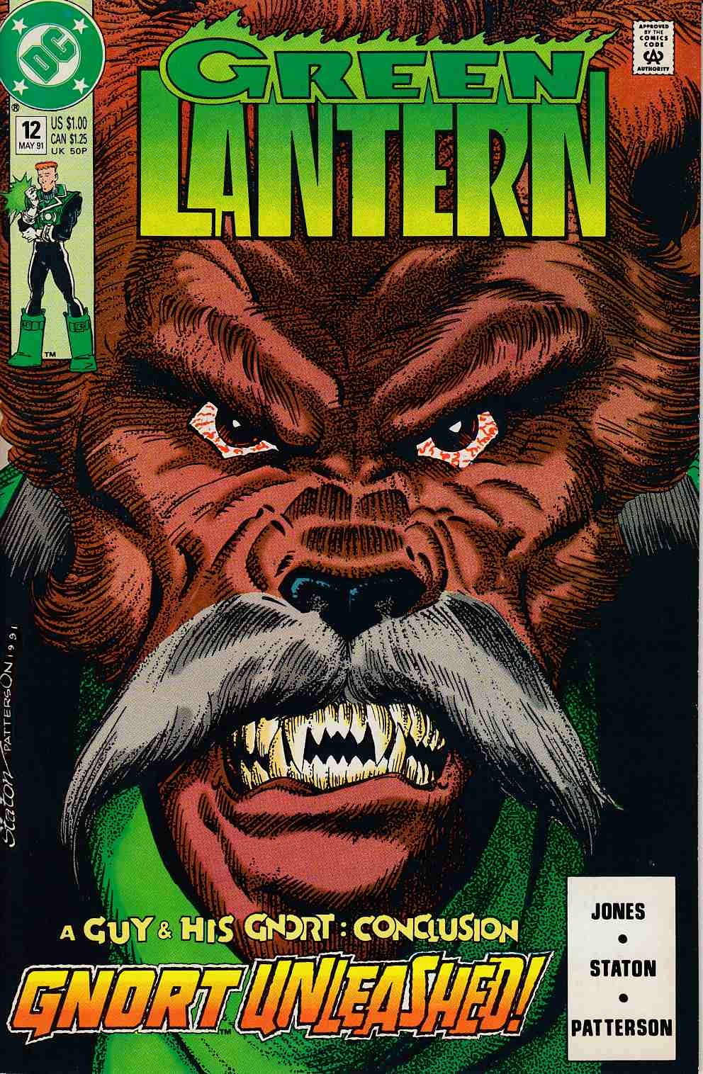 Green Lantern #12 Near Mint (9.4) [DC Comic]_THUMBNAIL