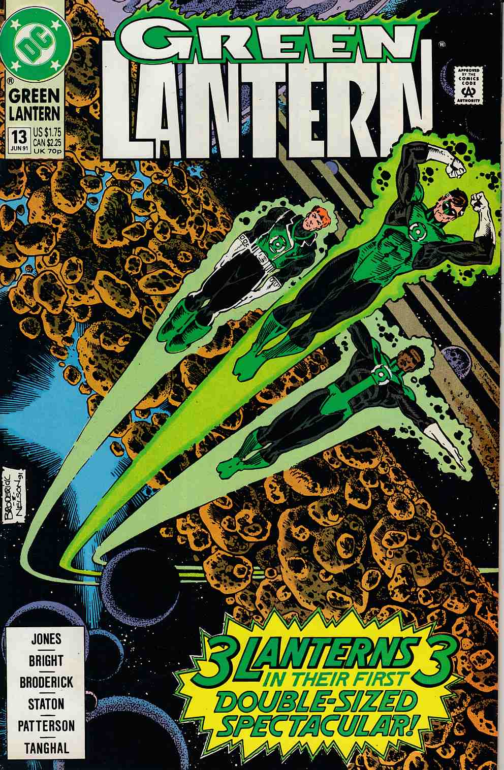 Green Lantern #13 Near Mint (9.4) [DC Comic] LARGE