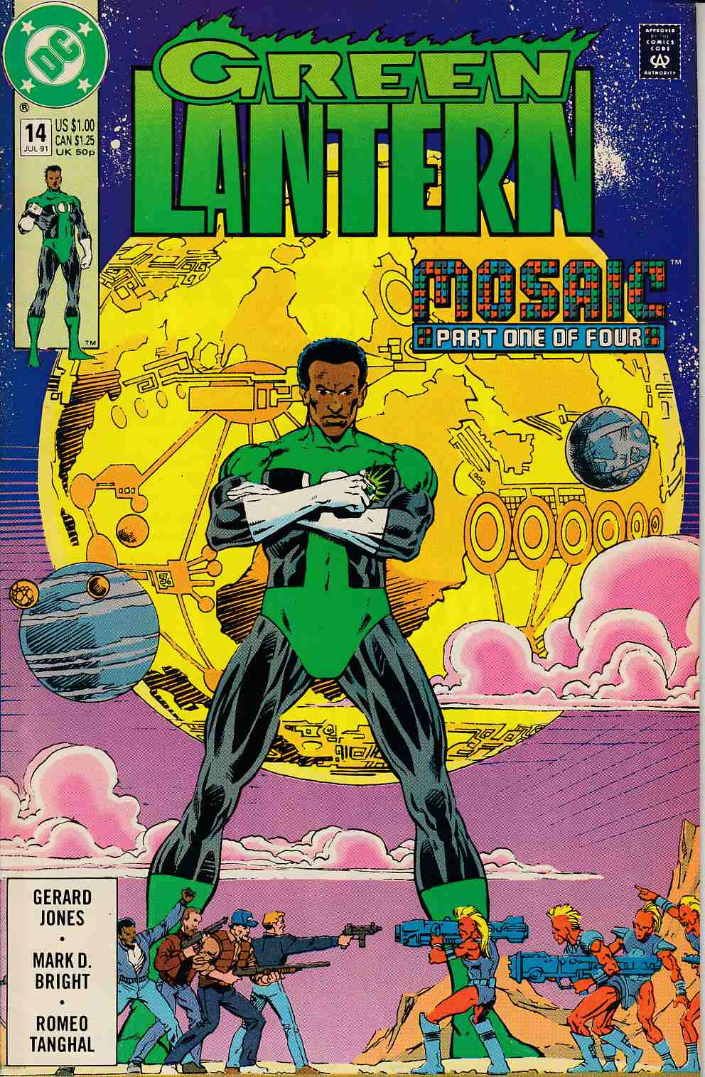 Green Lantern #14 Very Fine (8.0) [DC Comic] LARGE