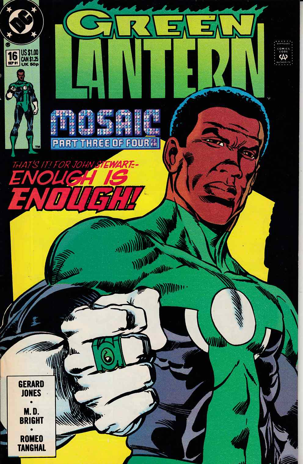 Green Lantern #16 Very Fine (8.0) [DC Comic] THUMBNAIL
