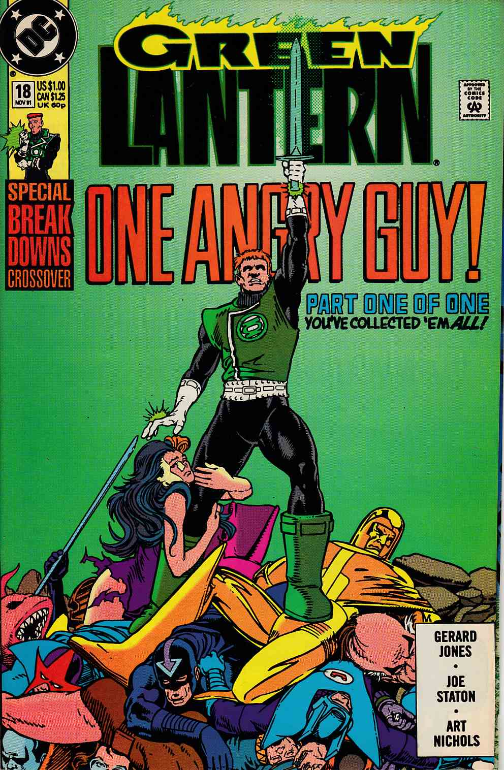 Green Lantern #18 Very Fine (8.0) [DC Comic] THUMBNAIL