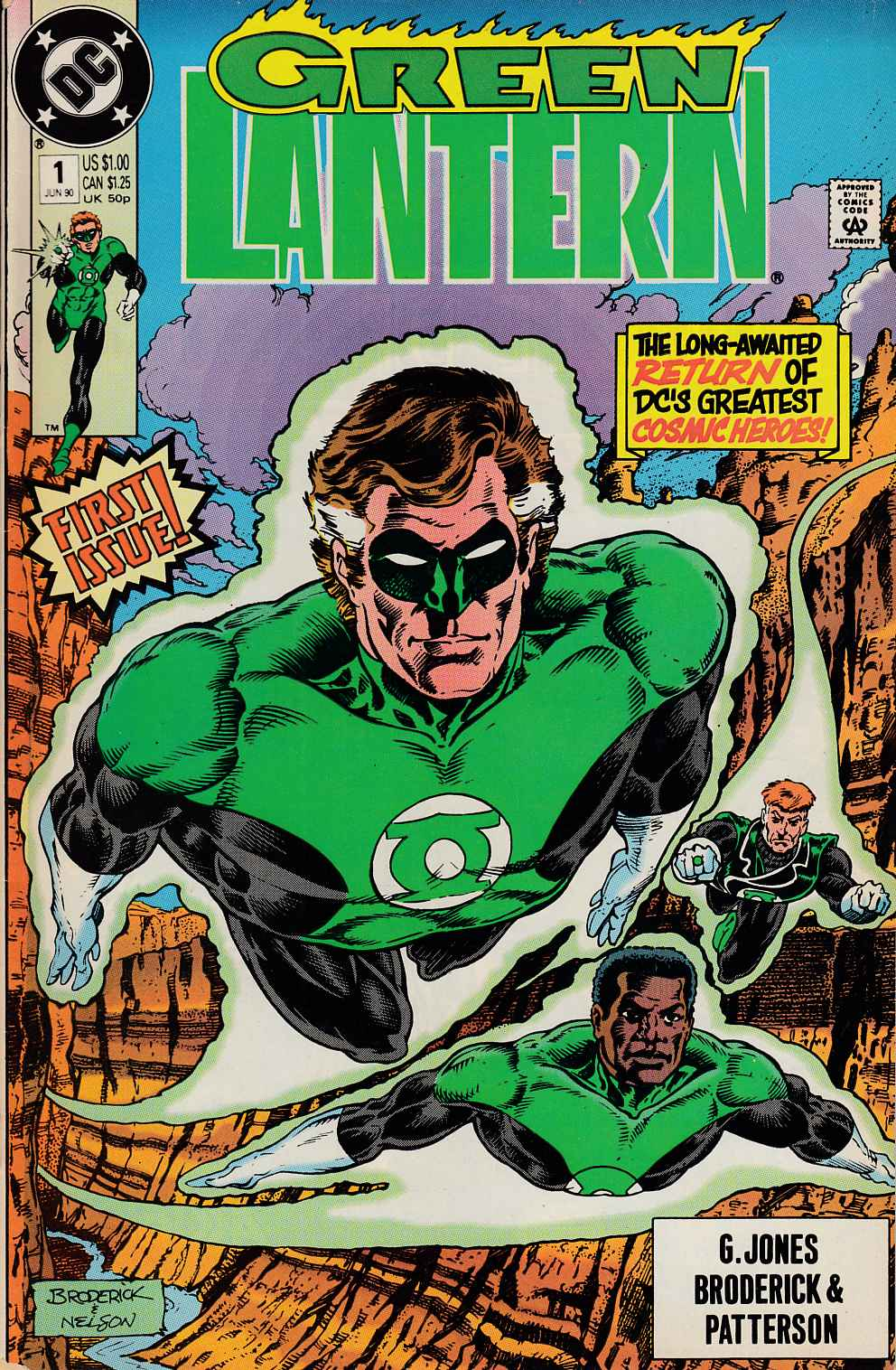 Green Lantern #1 Very Fine (8.0) [DC Comic]_THUMBNAIL
