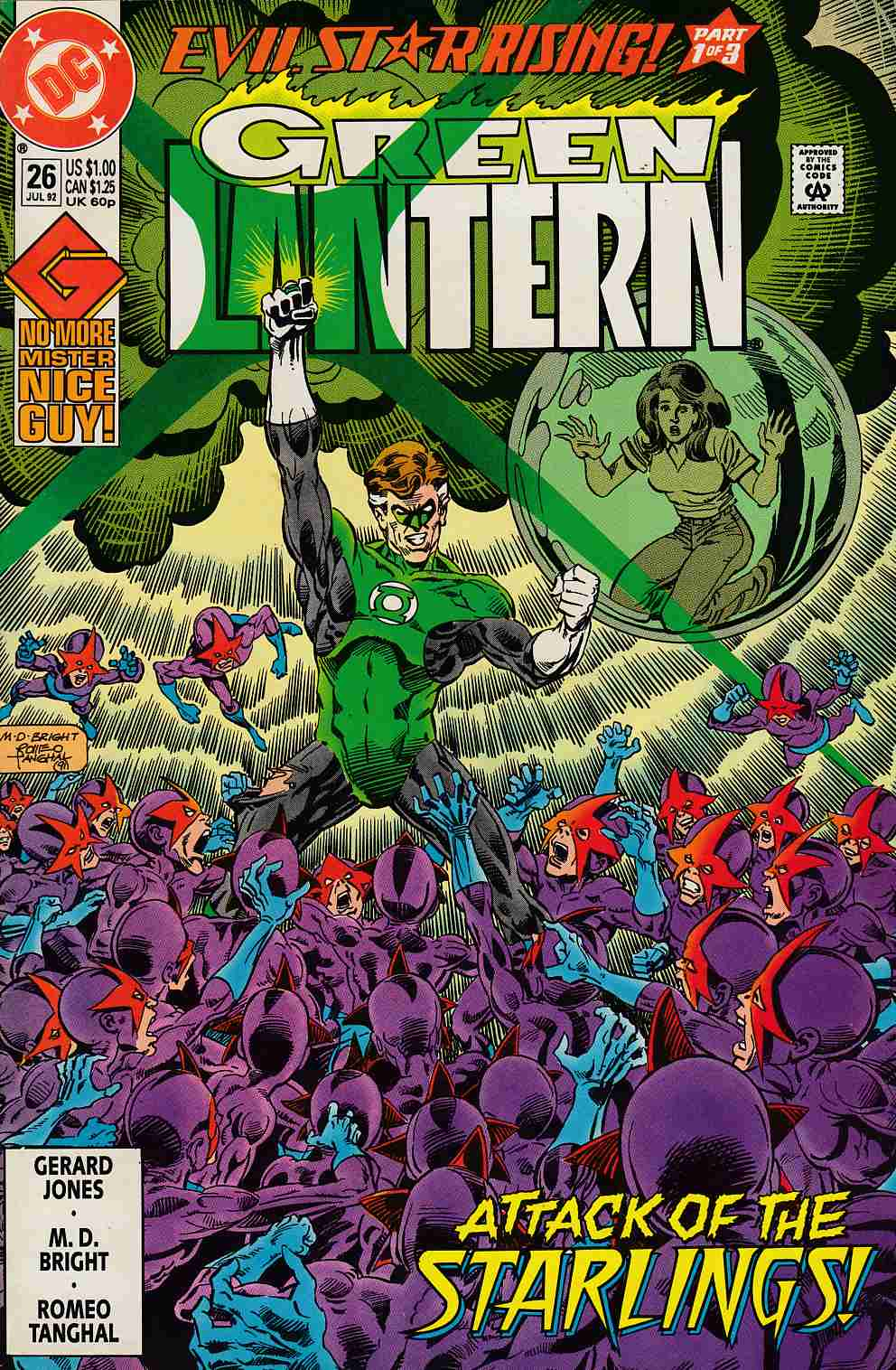 Green Lantern #26 Near Mint (9.4) [DC Comic] THUMBNAIL
