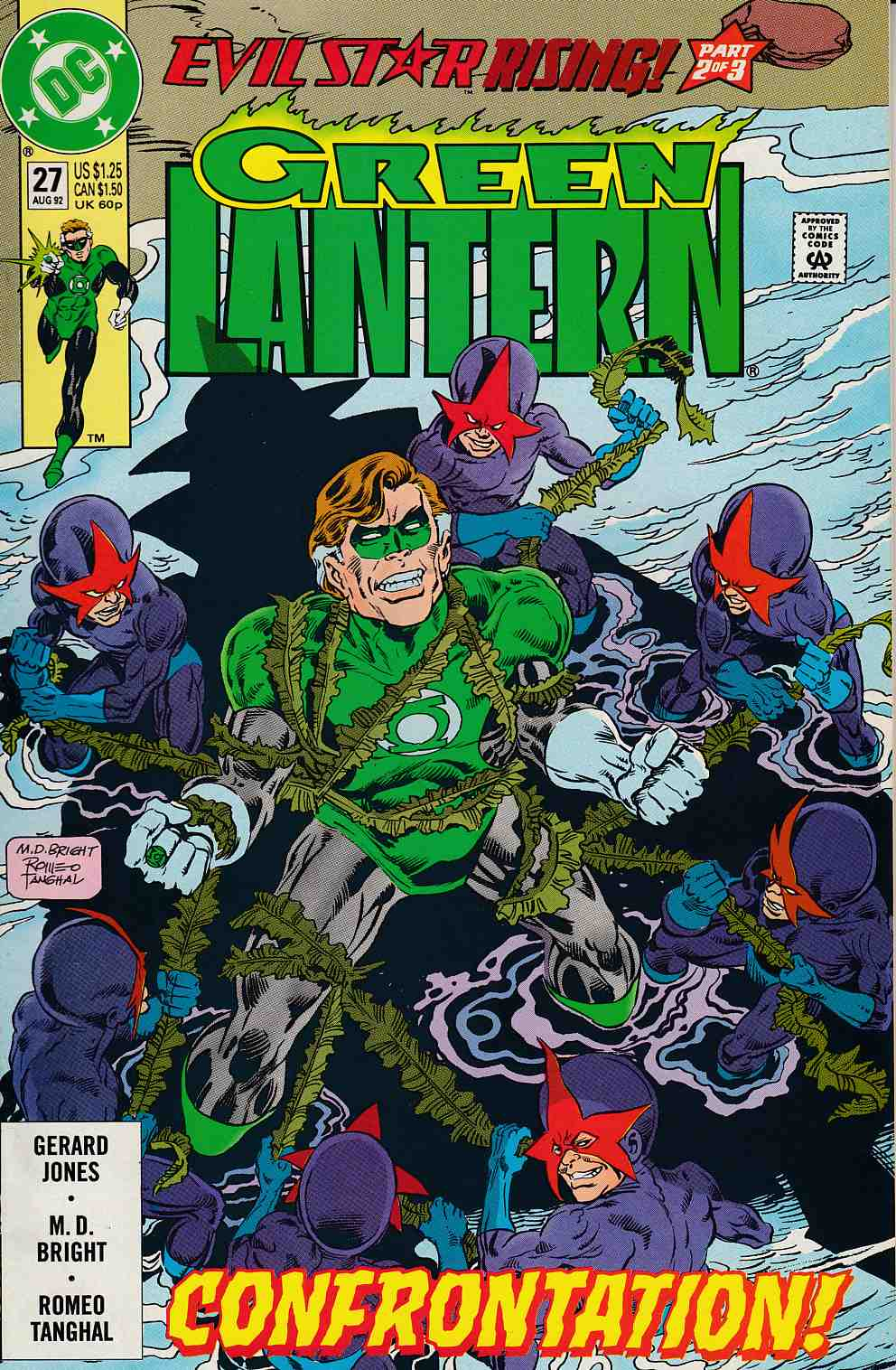 Green Lantern #27 Near Mint (9.4) [DC Comic] THUMBNAIL