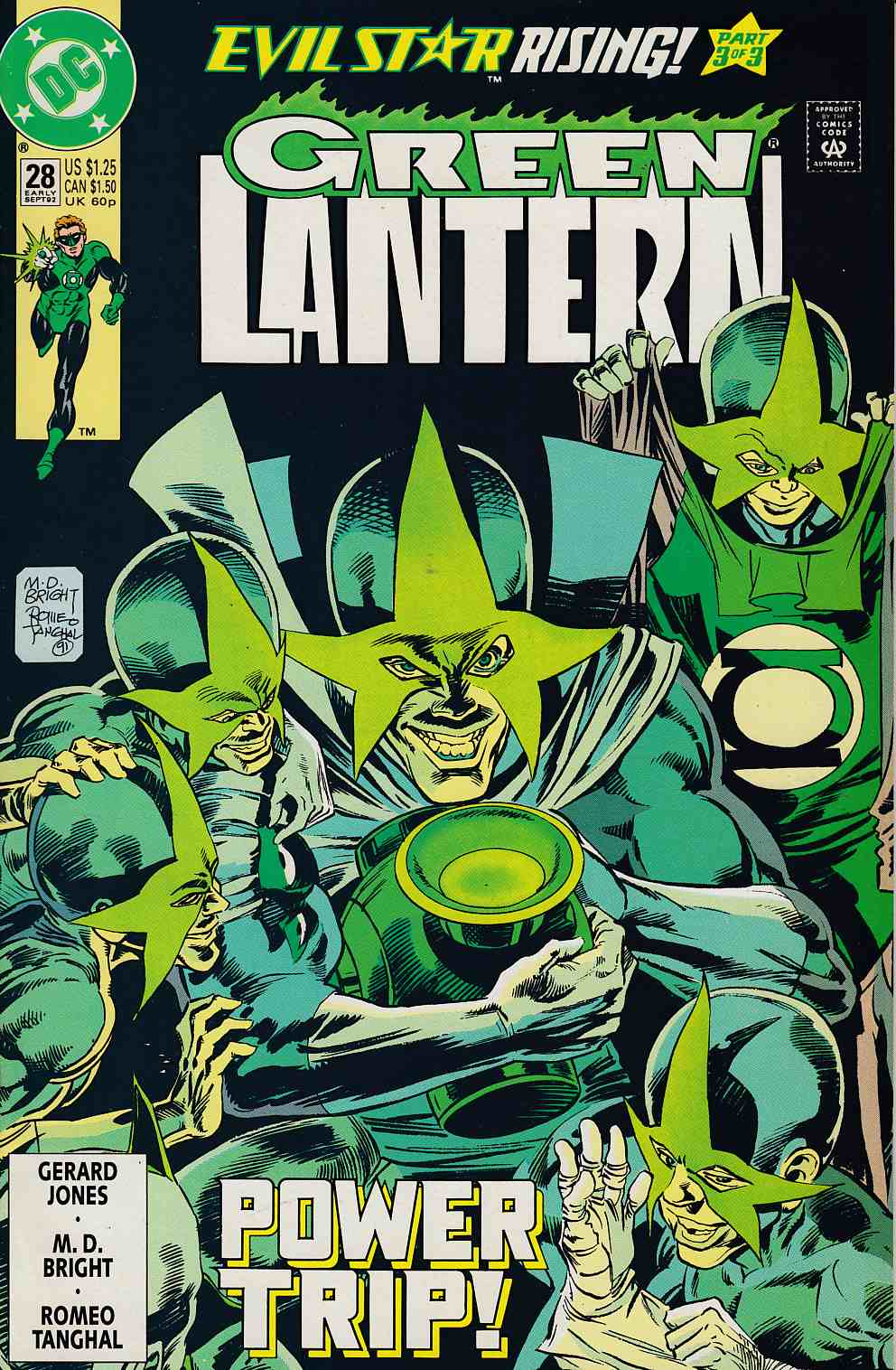 Green Lantern #28 Near Mint (9.4) [DC Comic] THUMBNAIL