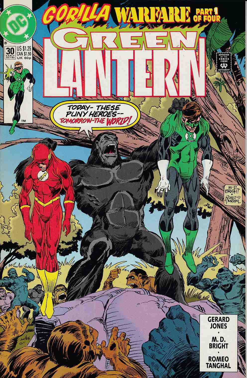 Green Lantern #30 Near Mint (9.4) [DC Comic] THUMBNAIL