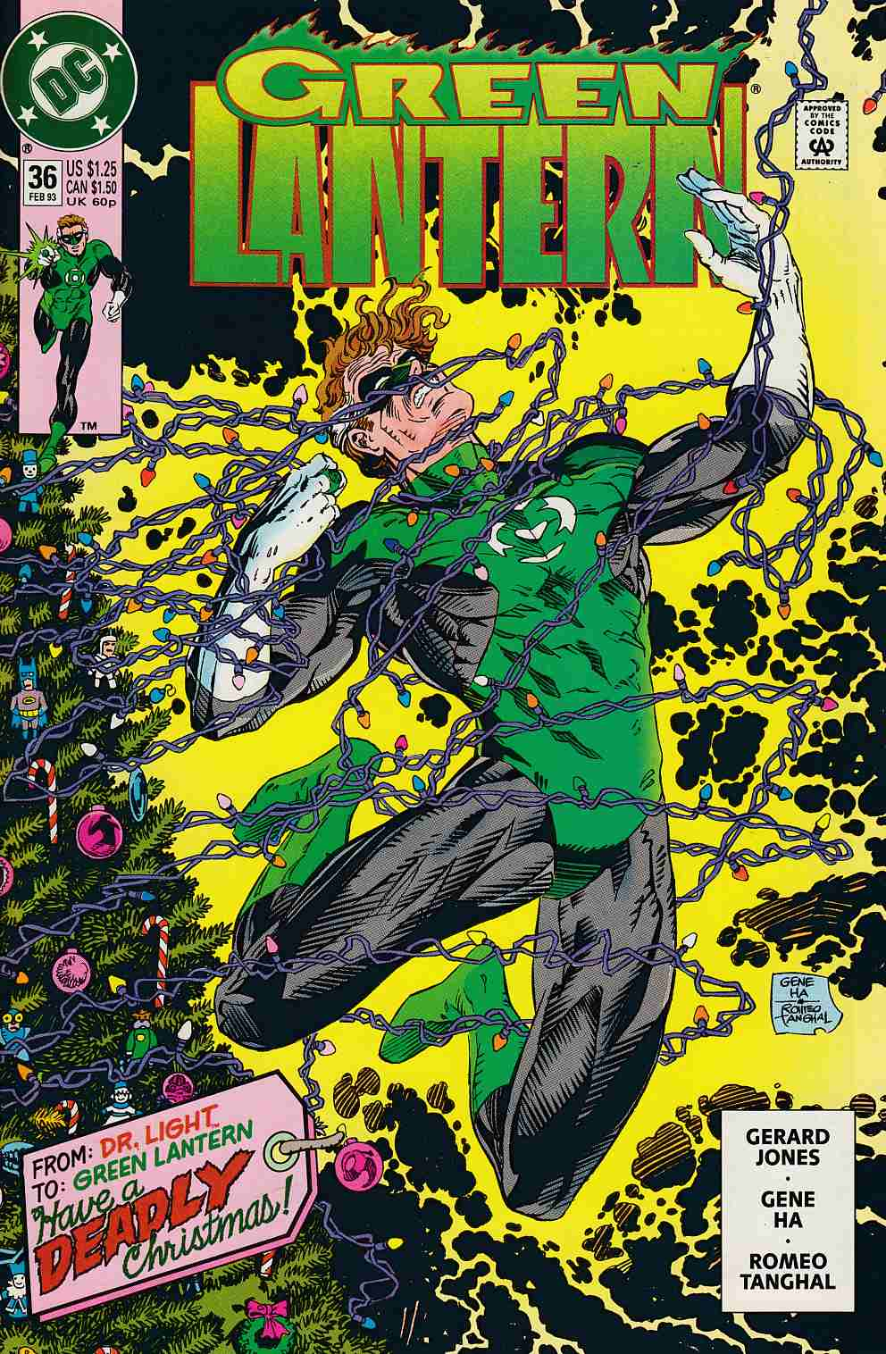 Green Lantern #36 Near Mint (9.4) [DC Comic] LARGE