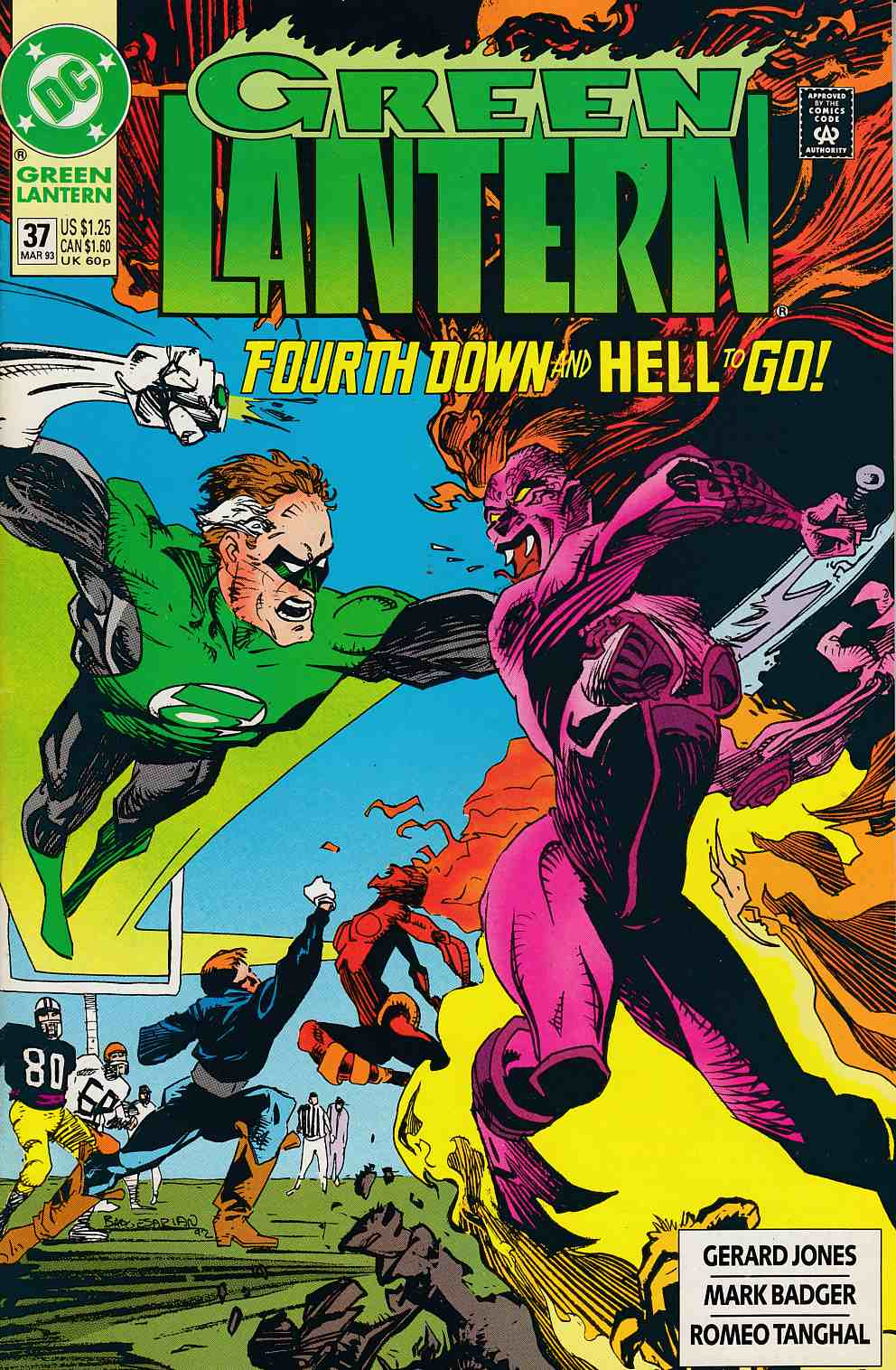 Green Lantern #37 Near Mint (9.4) [DC Comic] THUMBNAIL