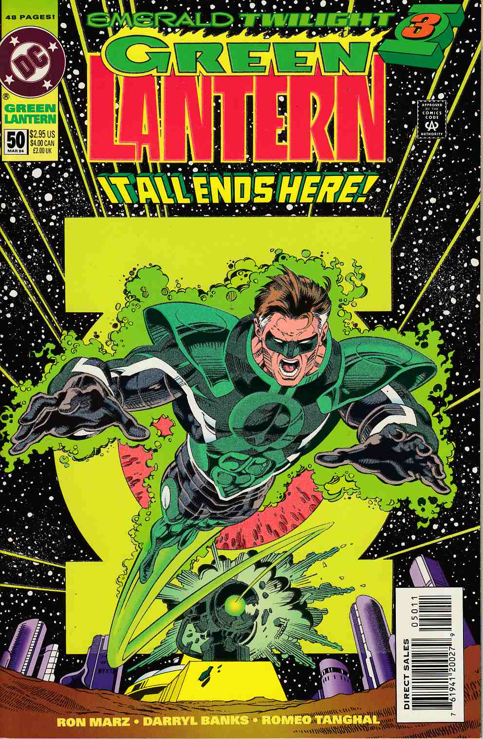 Green Lantern #50 Very Fine (8.0) [DC Comic] LARGE