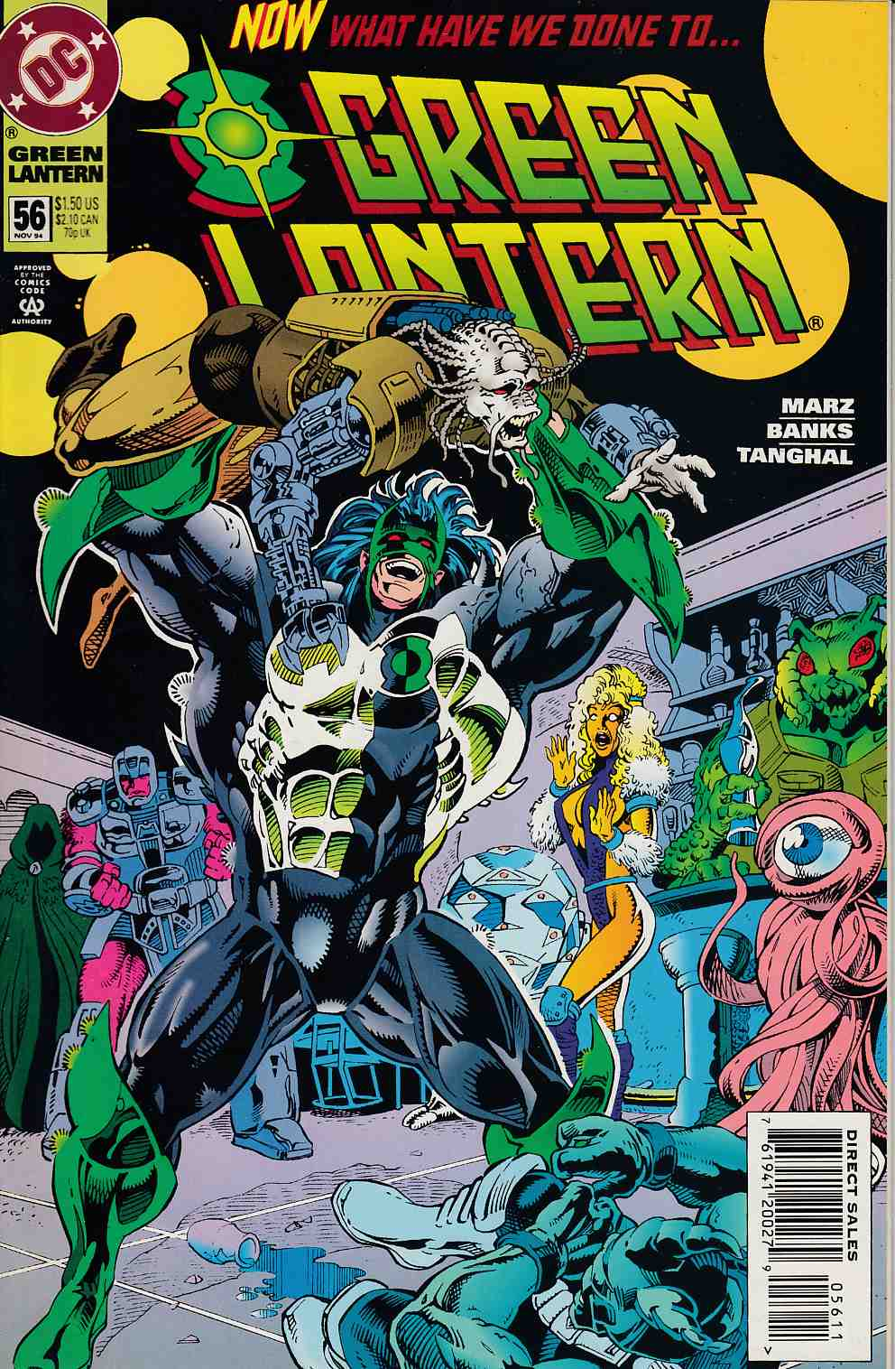 Green Lantern #56 Near Mint (9.4) [DC Comic] LARGE