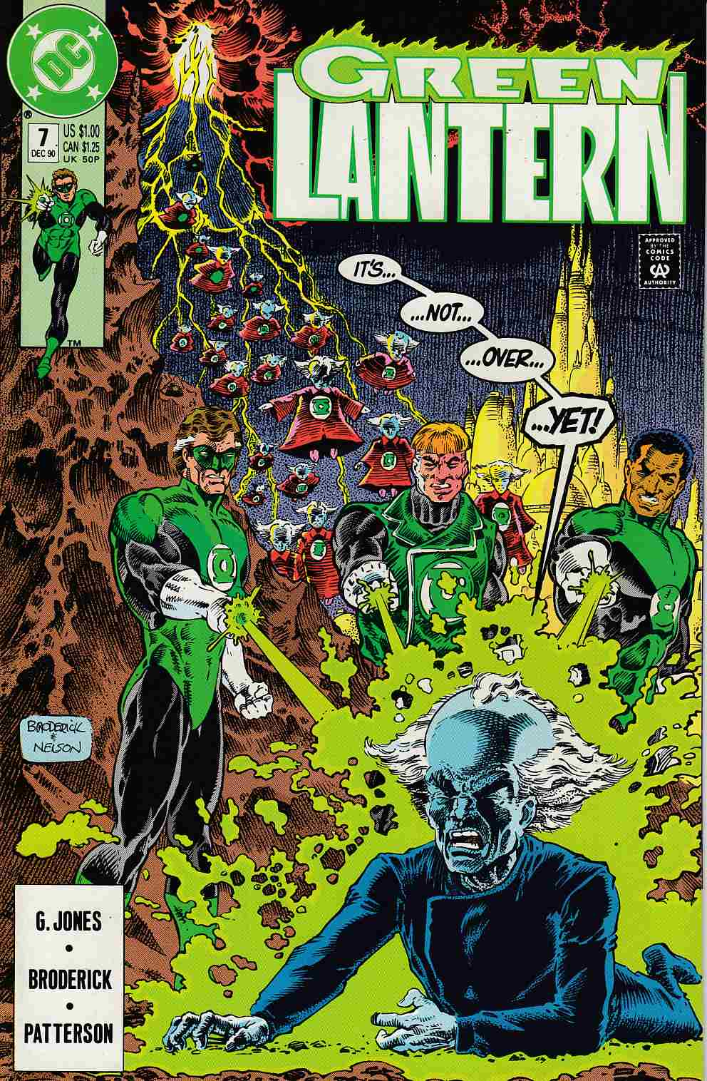 Green Lantern #7 Near Mint (9.4) [DC Comic]_THUMBNAIL