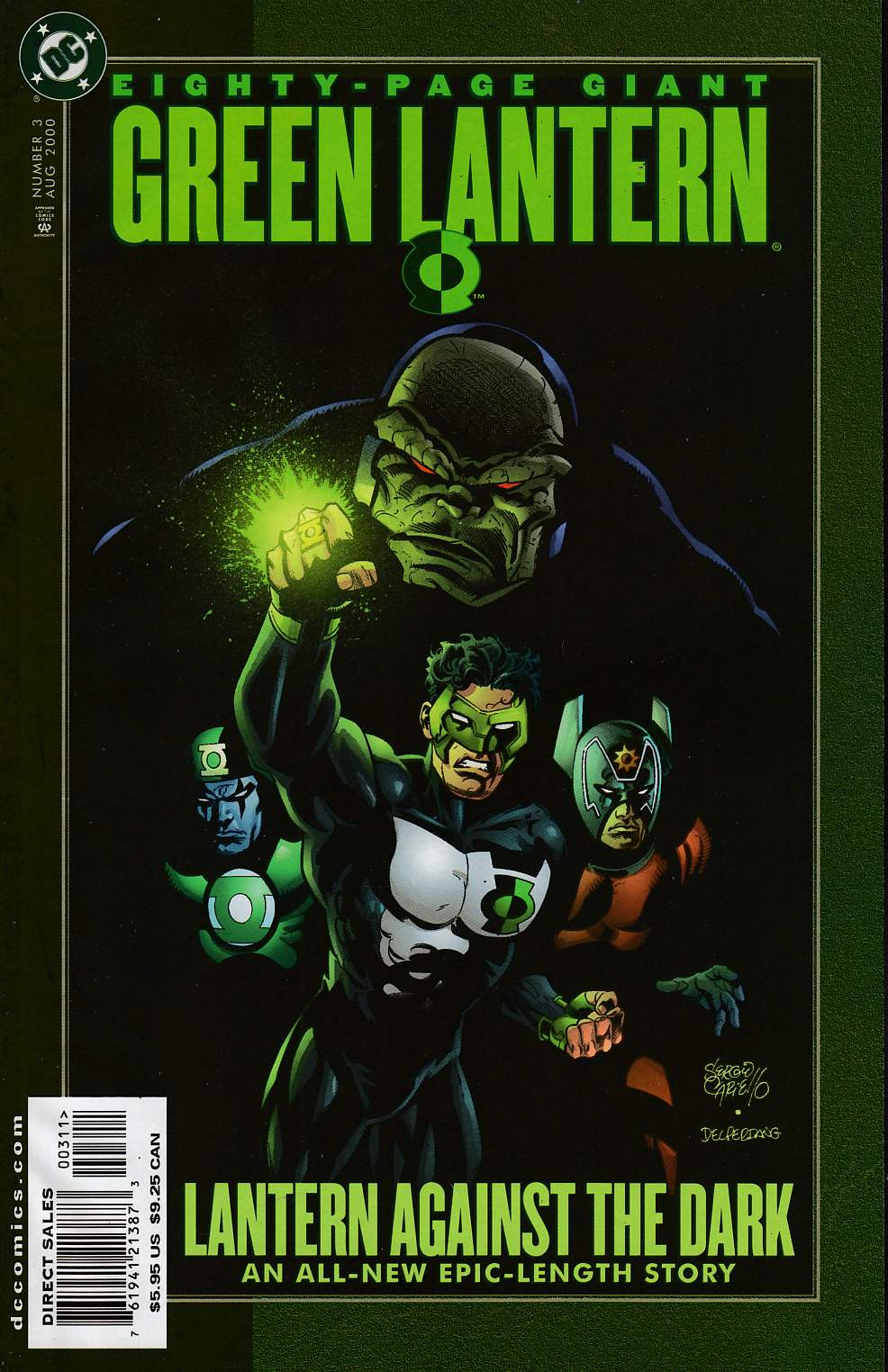 Green Lantern 80 Page Giant #3 Fine/Very Fine (7.0) [DC Comic] LARGE