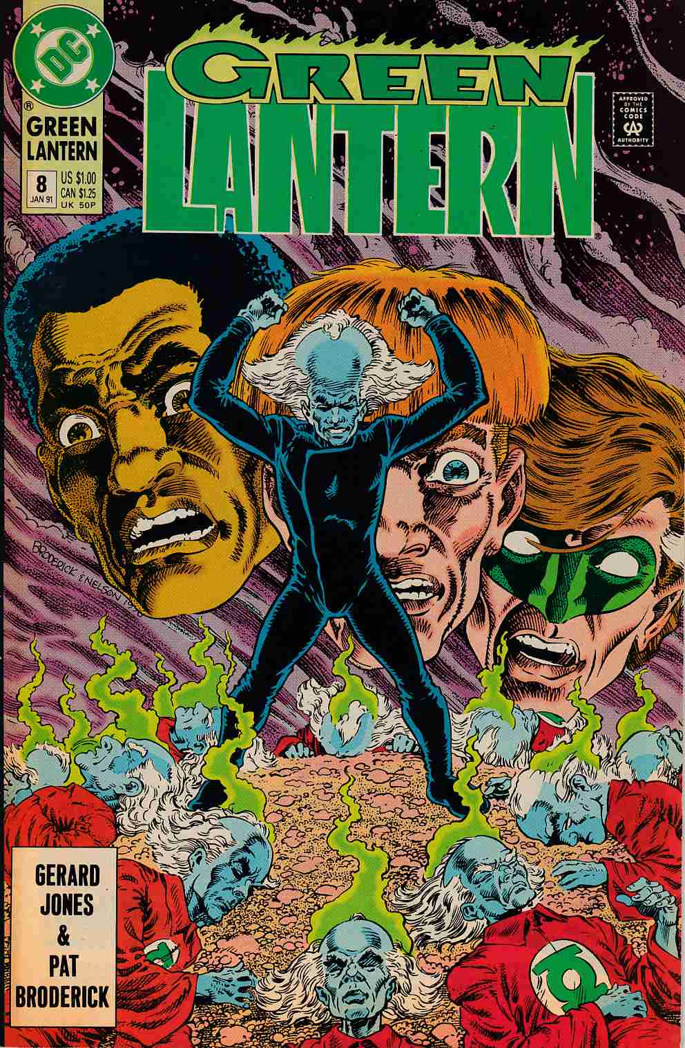 Green Lantern #8 Very Fine (8.0) [DC Comic]_THUMBNAIL