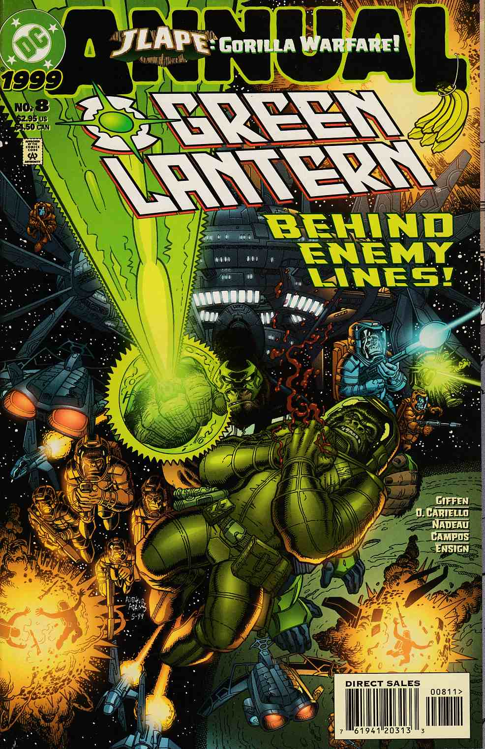 Green Lantern Annual #8 Very Fine (8.0) [DC Comic]_THUMBNAIL