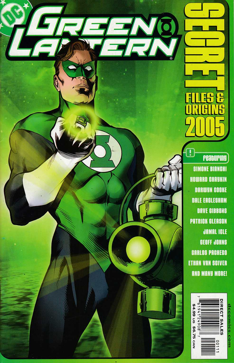 Green Lantern Secret Files 2005 Near Mint (9.4) [DC Comic]_THUMBNAIL